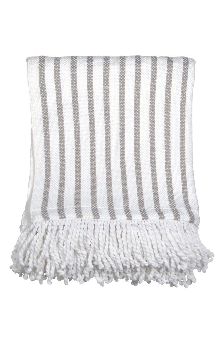 Peri Home Fringe Throw Blanket | Nordstrom