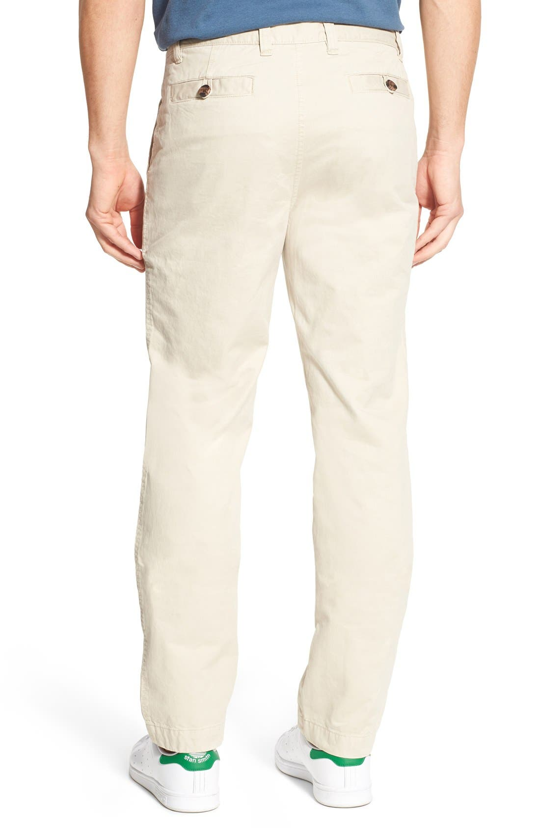 'Sahara' Trim Fit Vintage Washed Twill Chinos,                             Alternate thumbnail 2, color,                             270