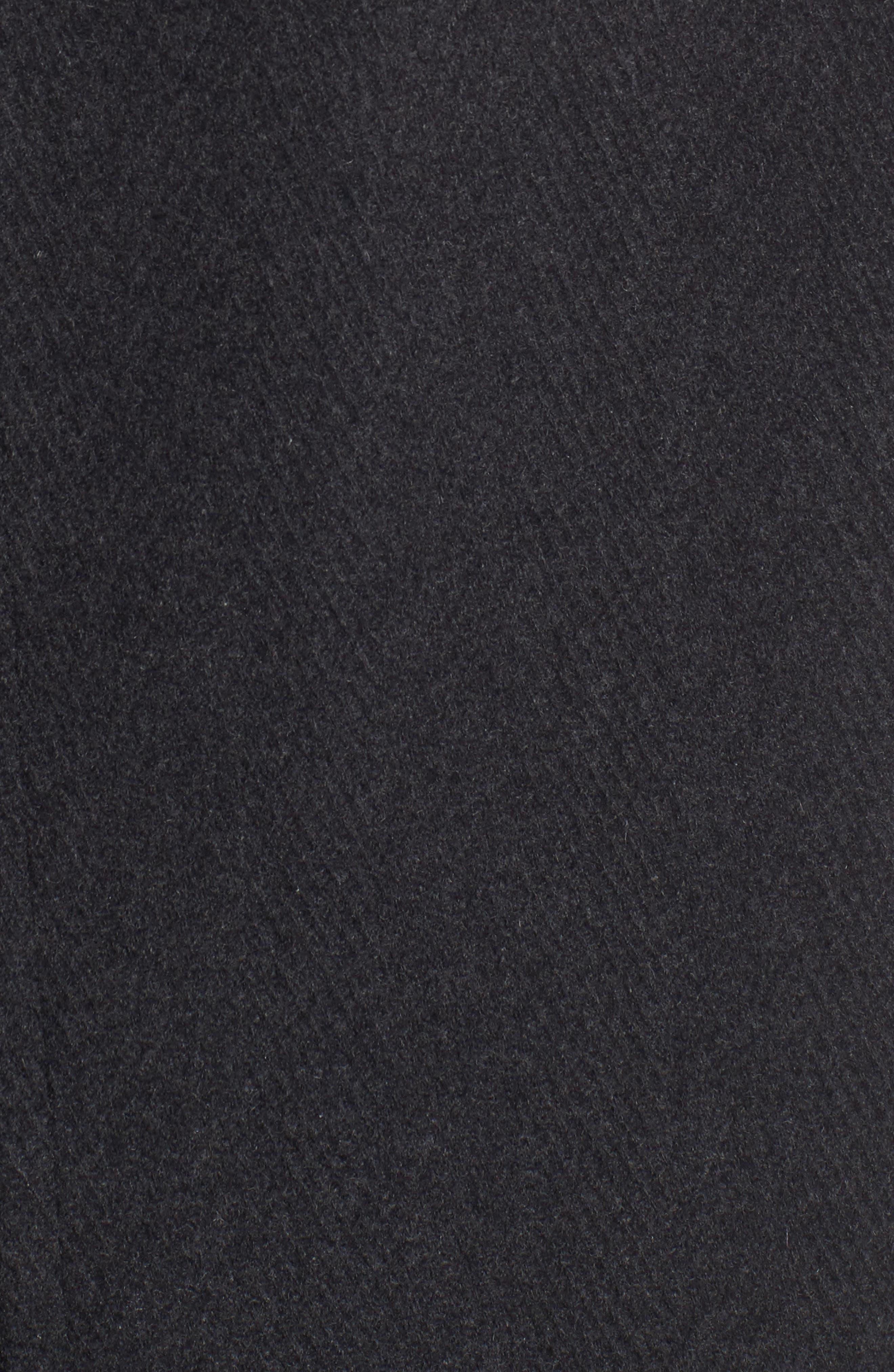 Herringbone Wool Blend Car Coat,                             Alternate thumbnail 9, color,