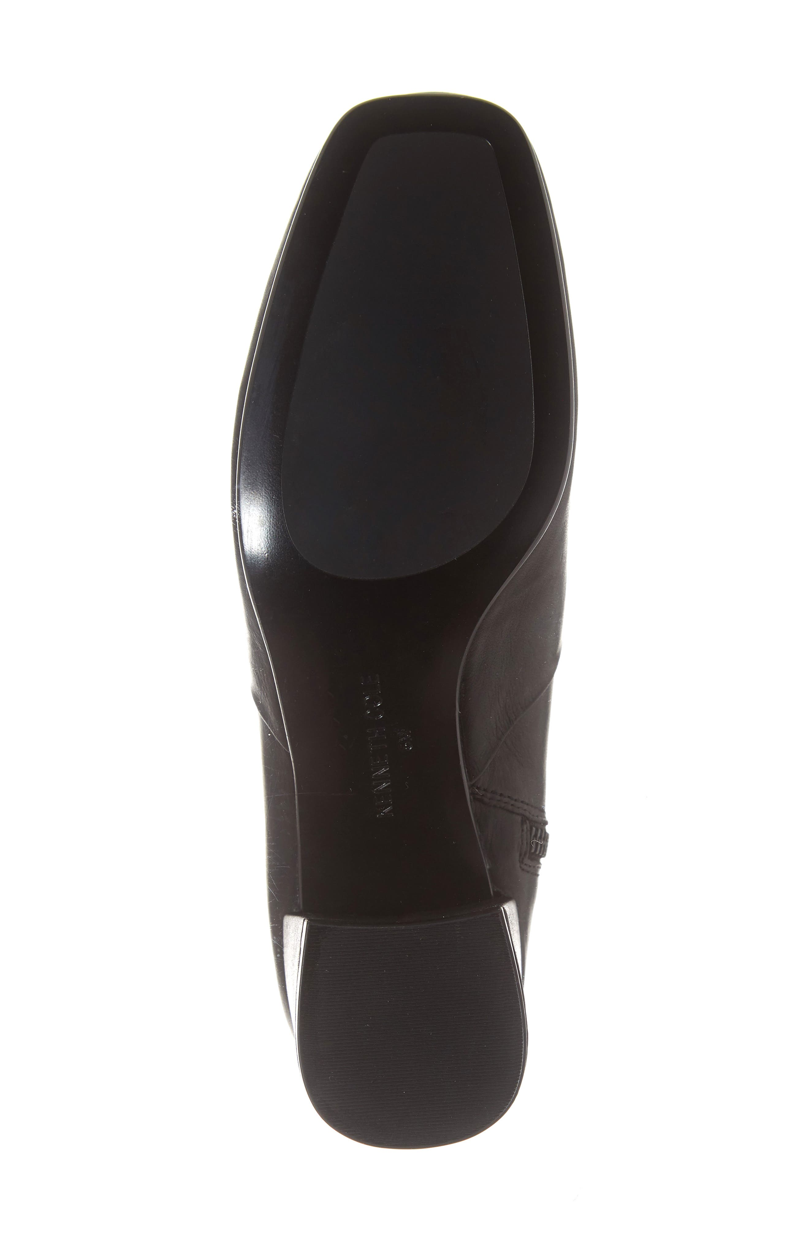 Eryc Bootie,                             Alternate thumbnail 6, color,                             BLACK LEATHER