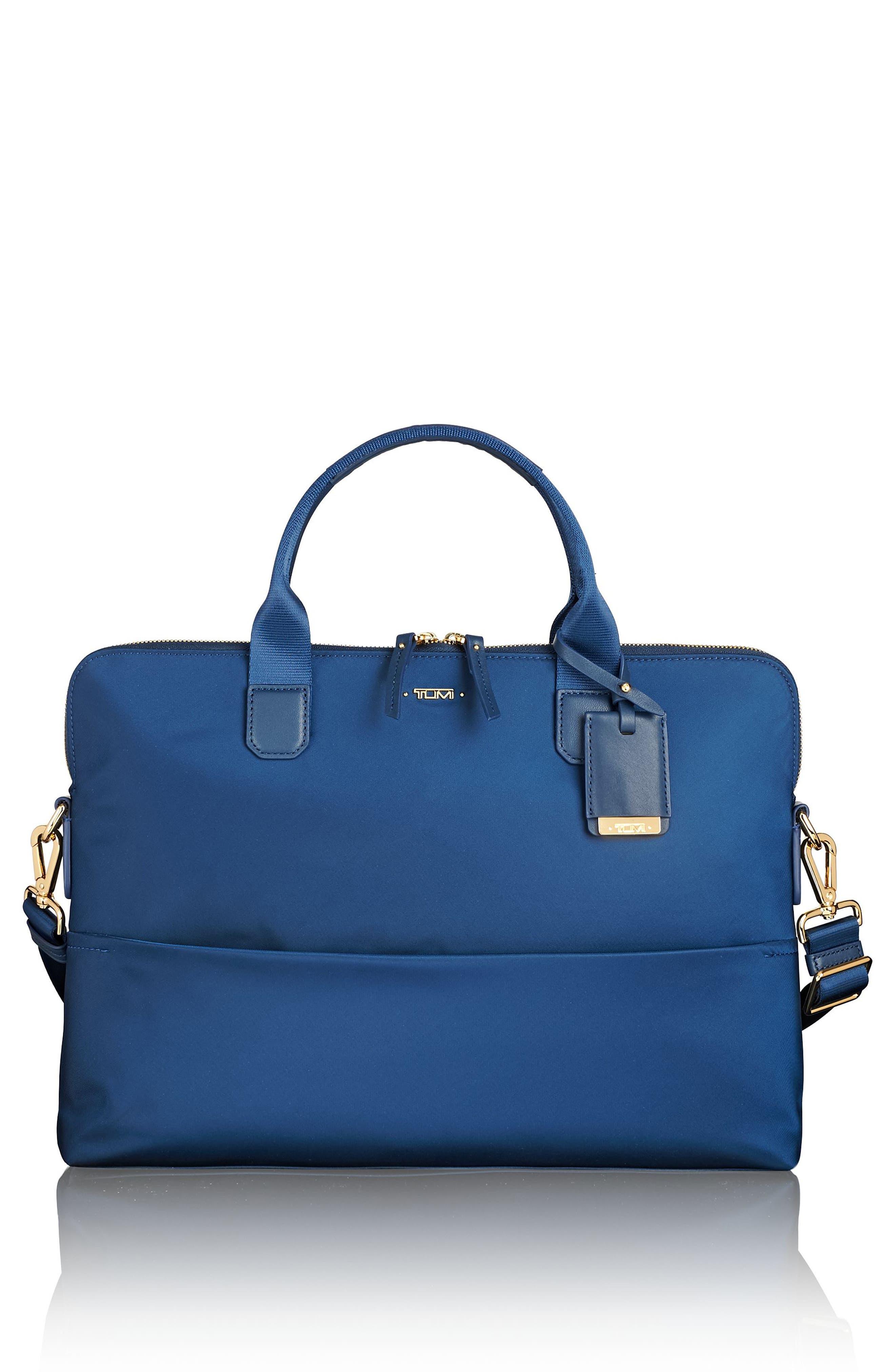 Voyageur Tina Nylon Laptop Briefcase,                         Main,                         color, 400