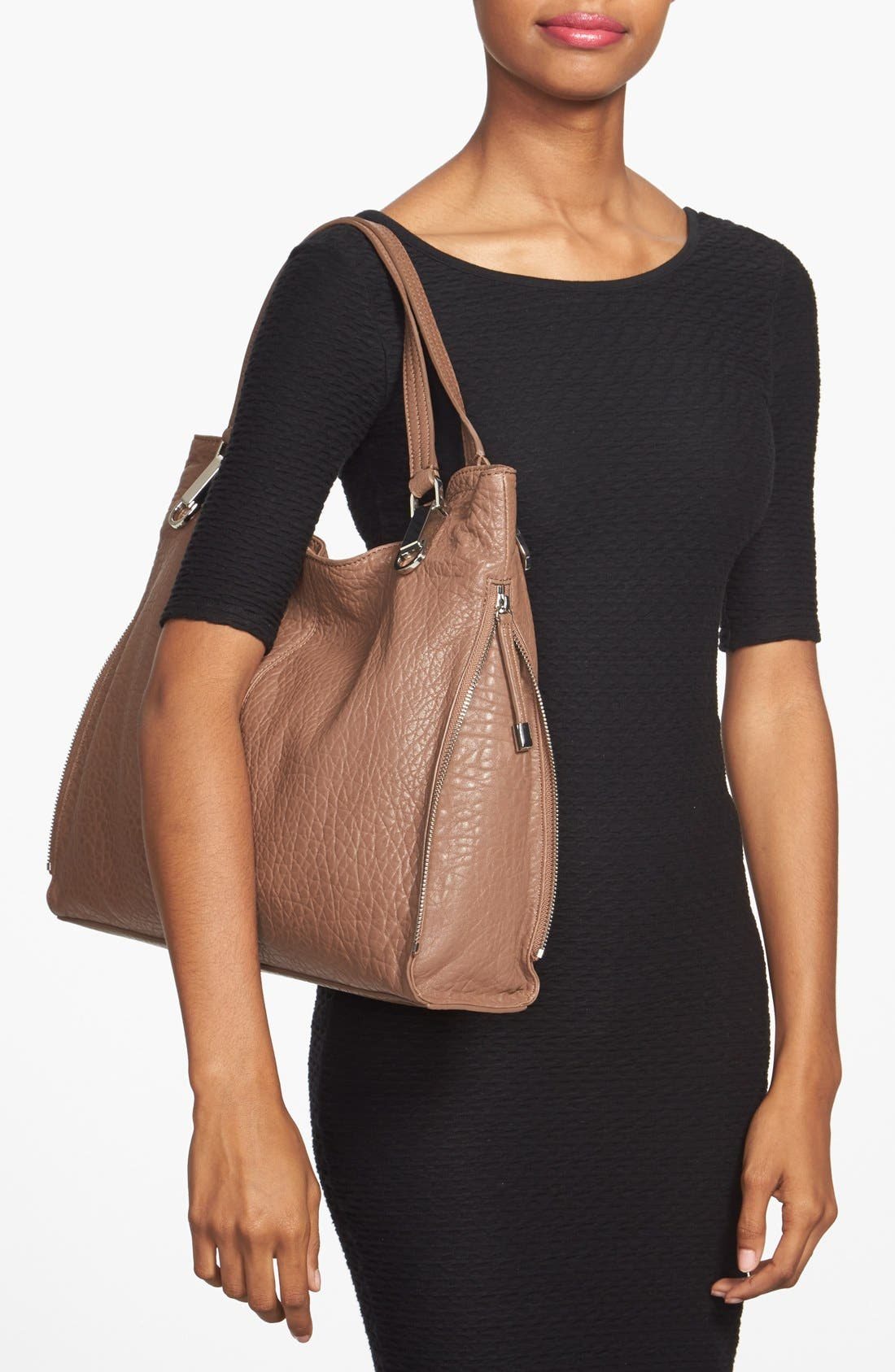 'Riley' Leather Tote,                             Alternate thumbnail 46, color,