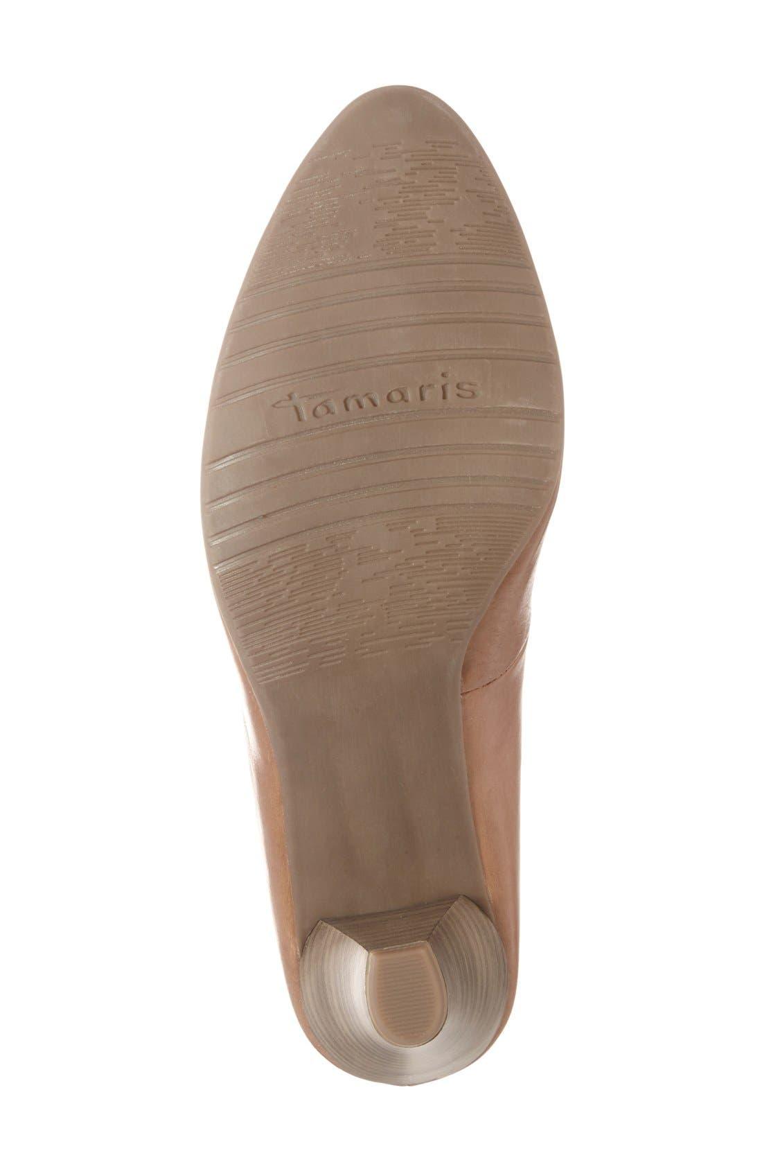 'Pimela' Almond Toe Pump,                             Alternate thumbnail 8, color,