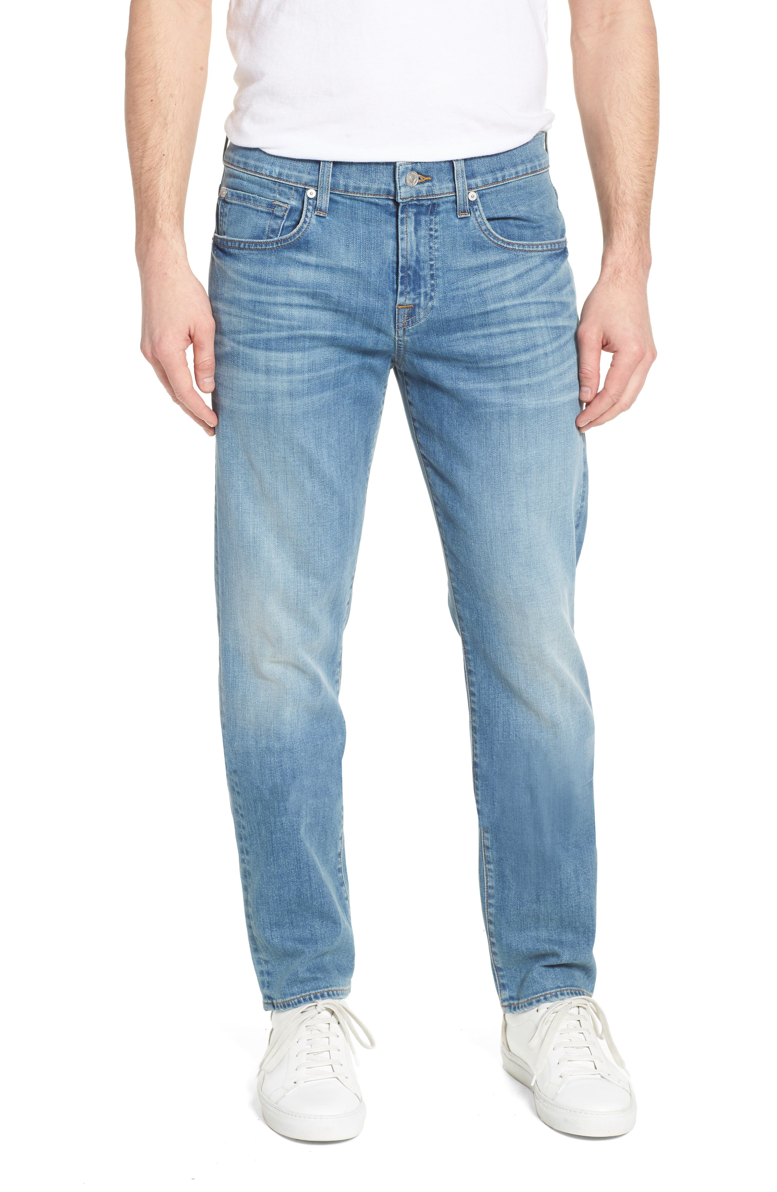 The Straight Slim Straight Leg Jeans,                             Main thumbnail 1, color,                             403