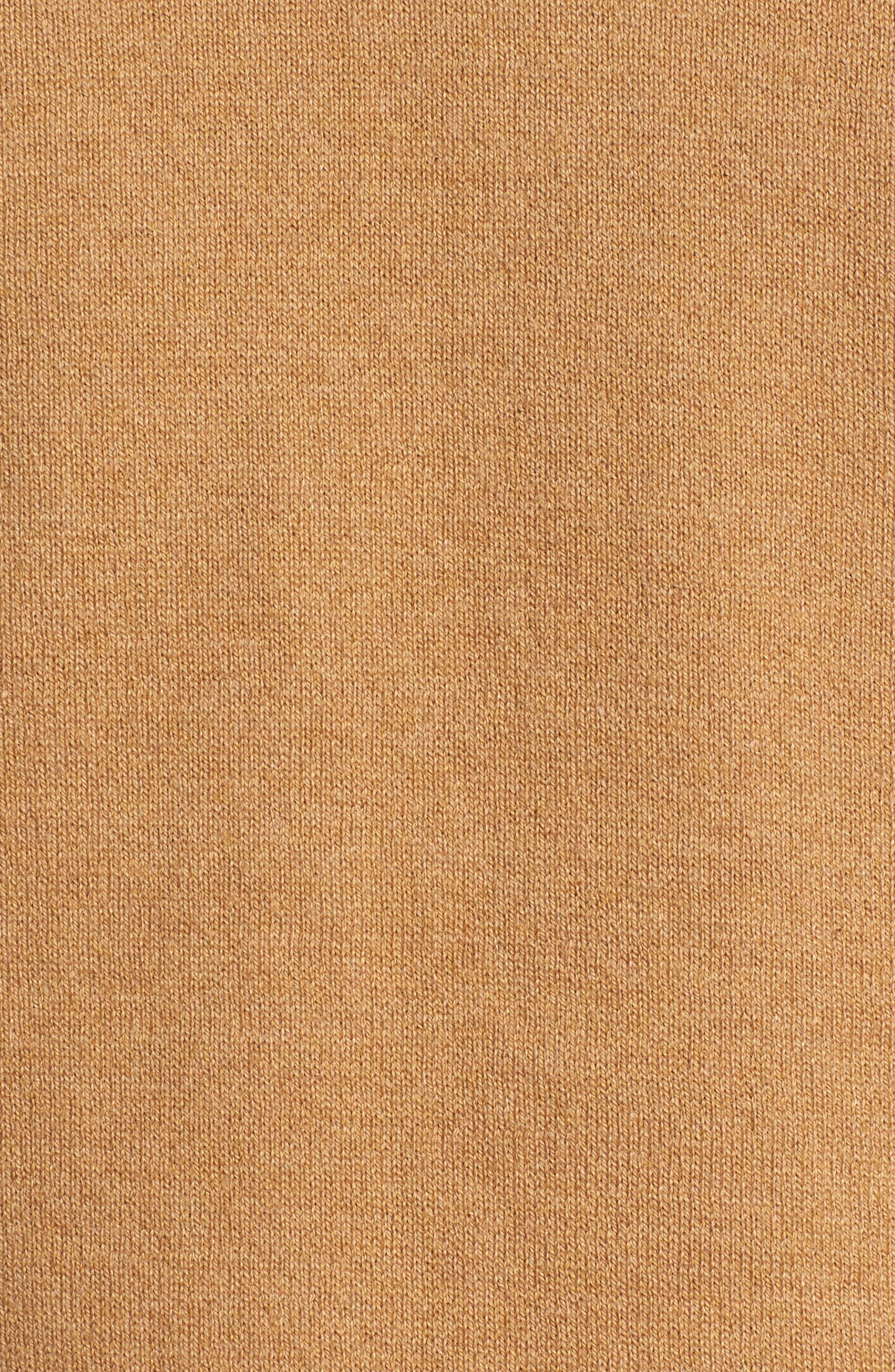 Saddle Shoulder Cotton & Cashmere V-Neck Sweater,                             Alternate thumbnail 37, color,