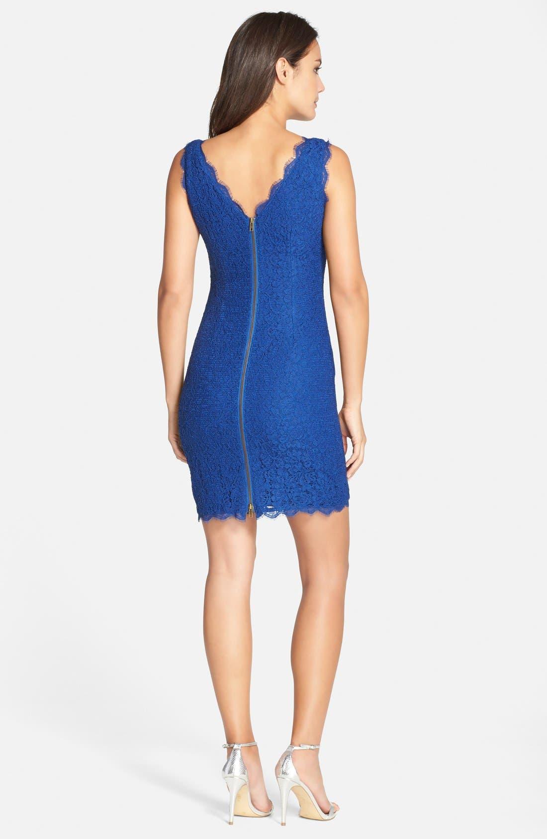 Boatneck Lace Sheath Dress,                             Alternate thumbnail 78, color,