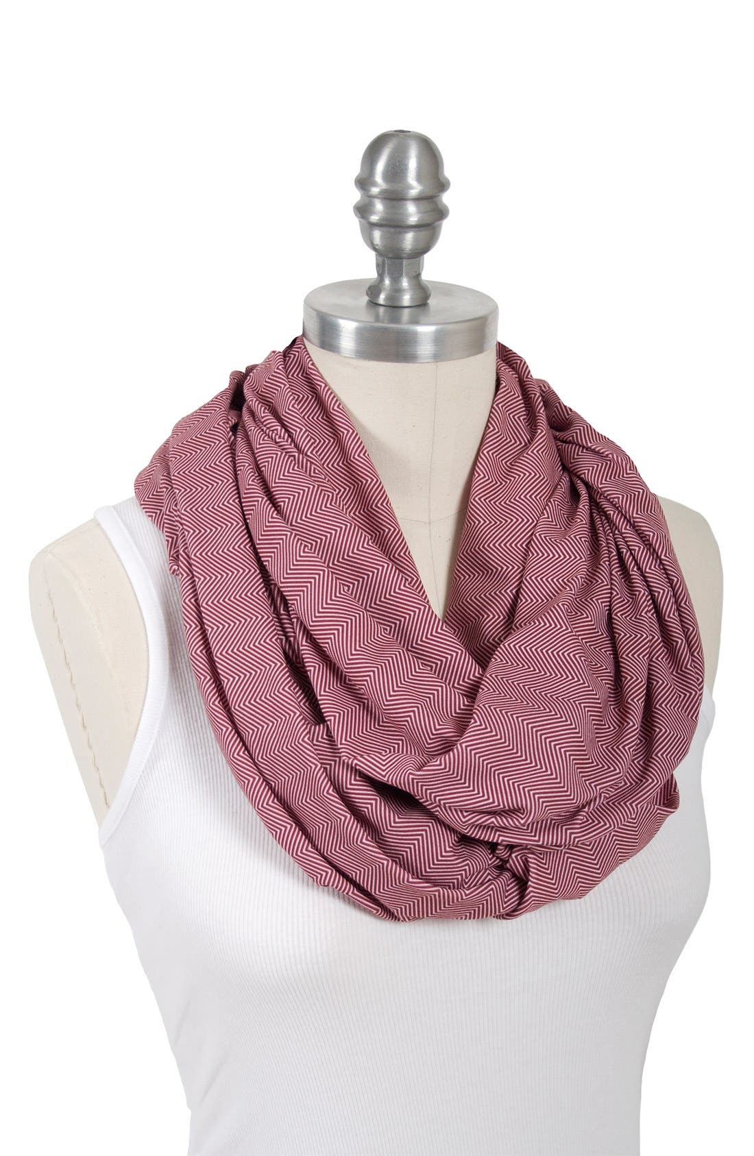 Infinity Nursing Scarf,                             Alternate thumbnail 2, color,                             601