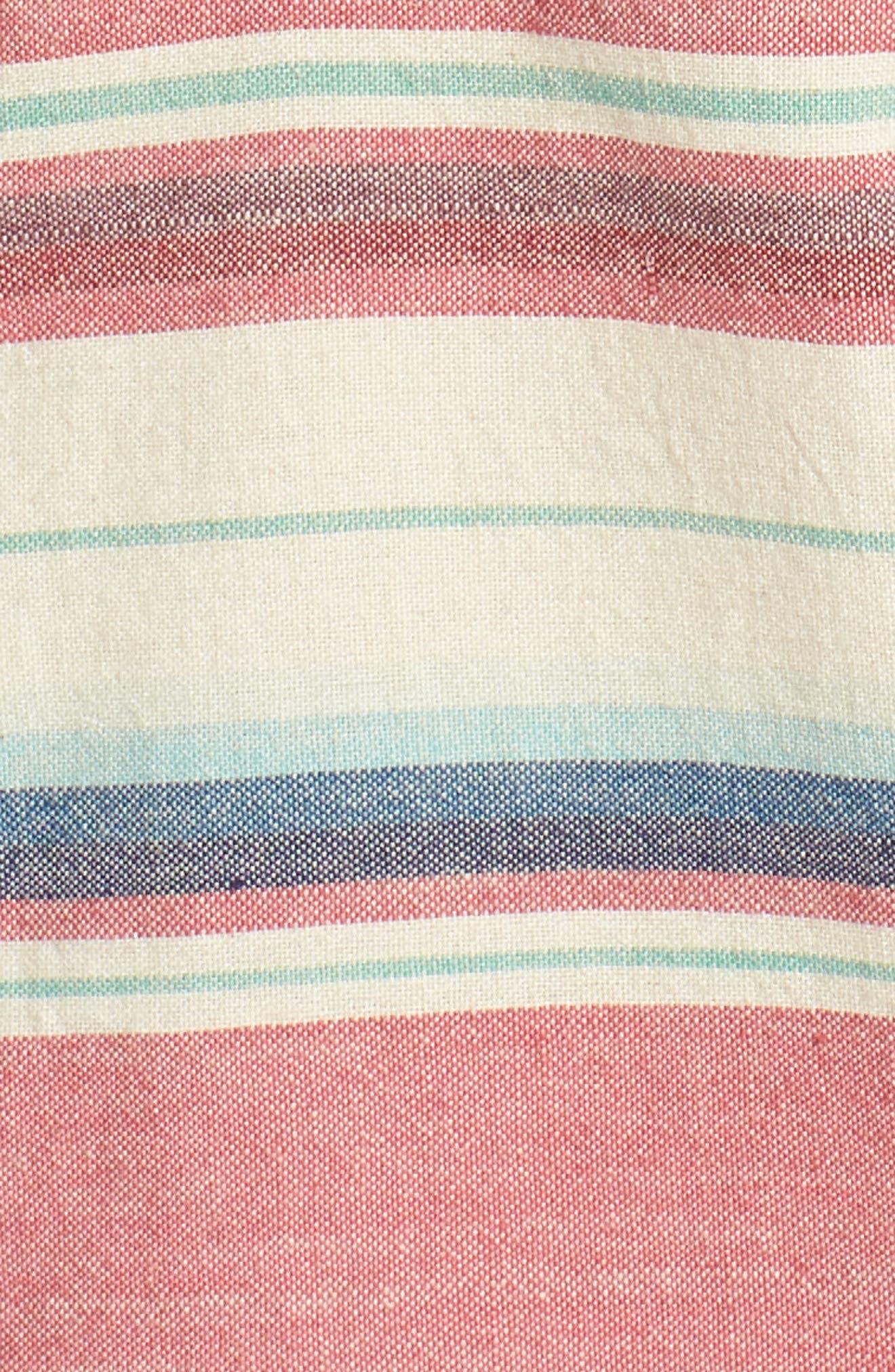 Coast Ikat Sport Shirt,                             Alternate thumbnail 5, color,                             600
