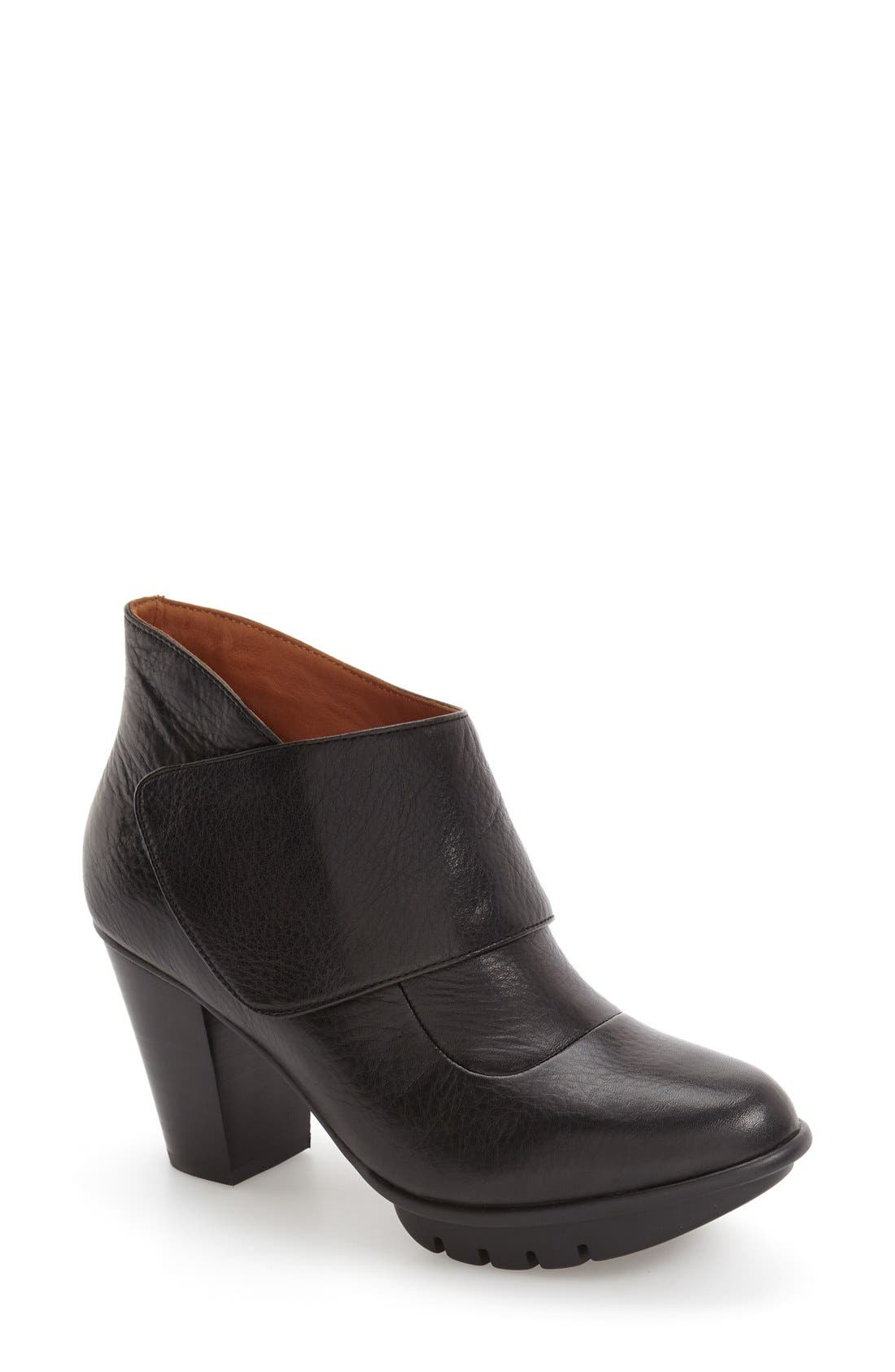 'Eviemae' Platform Bootie,                         Main,                         color, 001