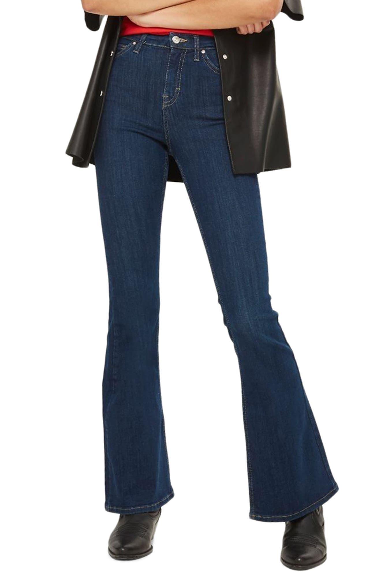 Jamie Flare Jeans,                             Main thumbnail 2, color,