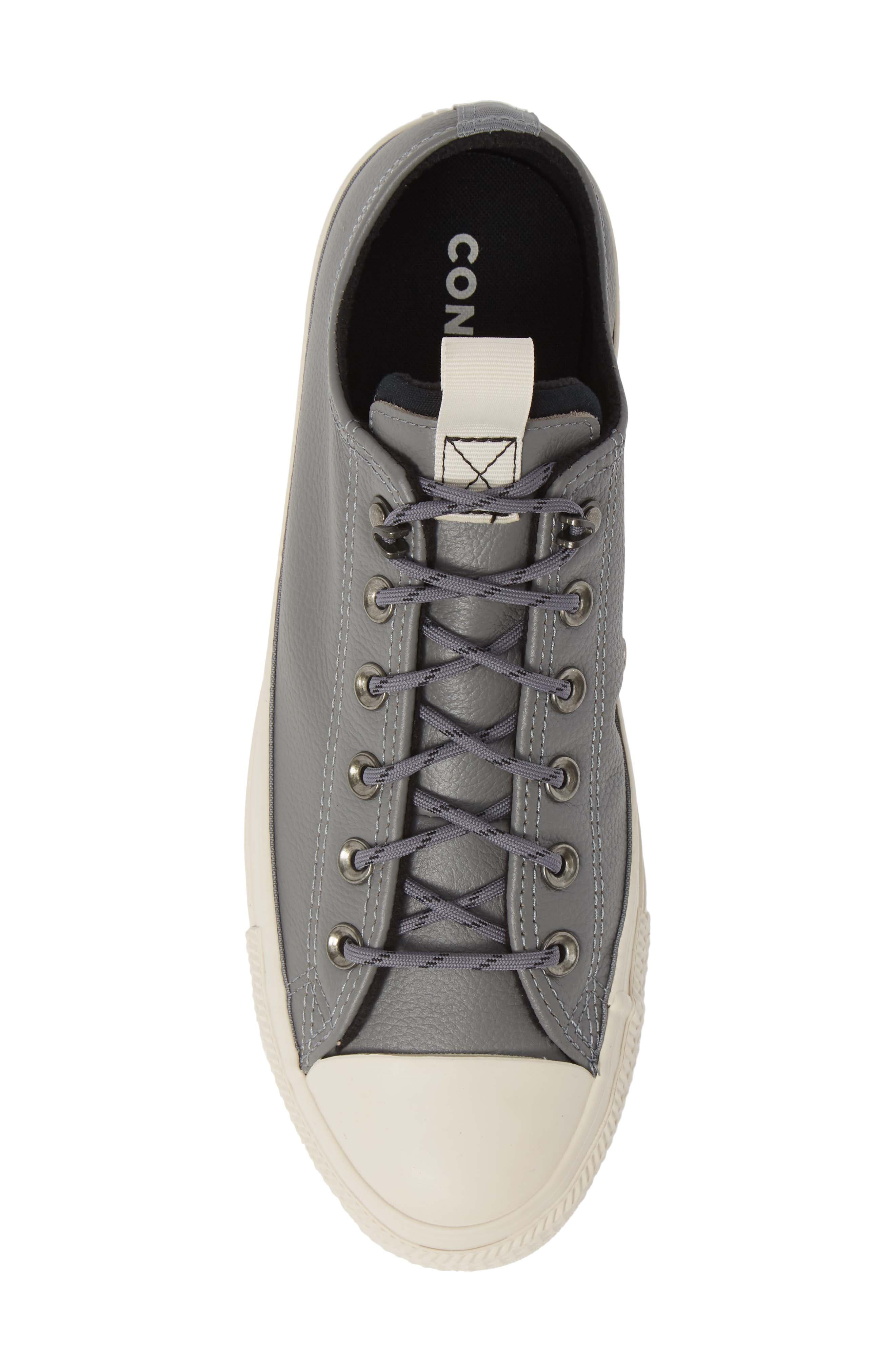 Chuck Taylor<sup>®</sup> All Star<sup>®</sup> Desert Storm Ox Sneaker,                             Alternate thumbnail 5, color,                             WHITE/ LIGHT FAWN/ EGRET