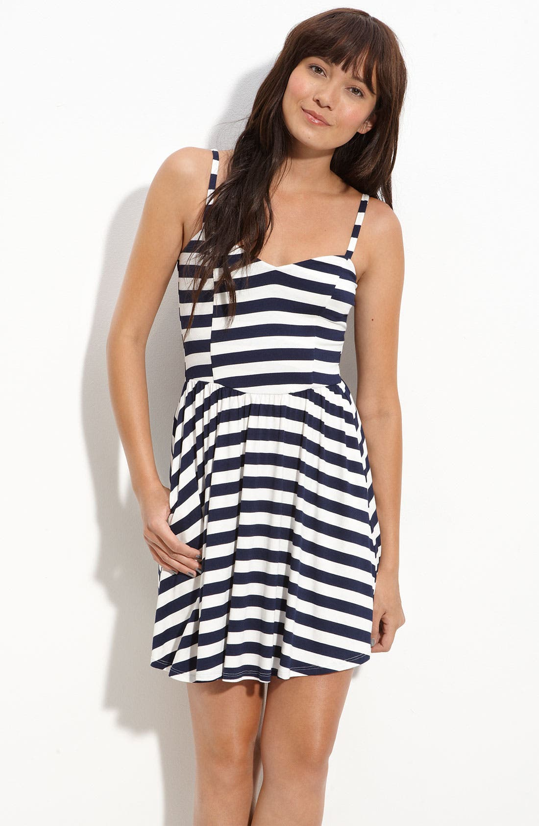 Lush Knit Camisole Dress,                         Main,                         color, 410
