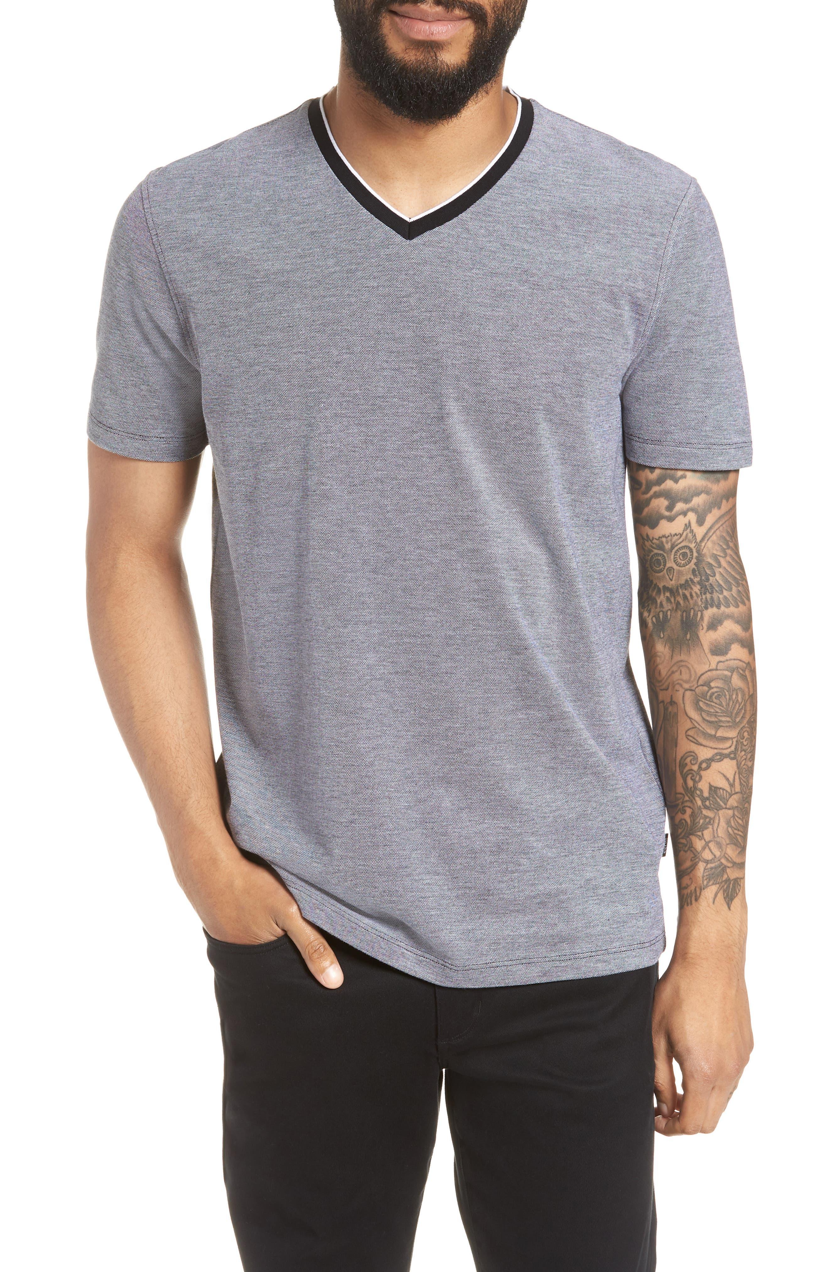 TIlson Regular Fit T-Shirt,                         Main,                         color, BLACK