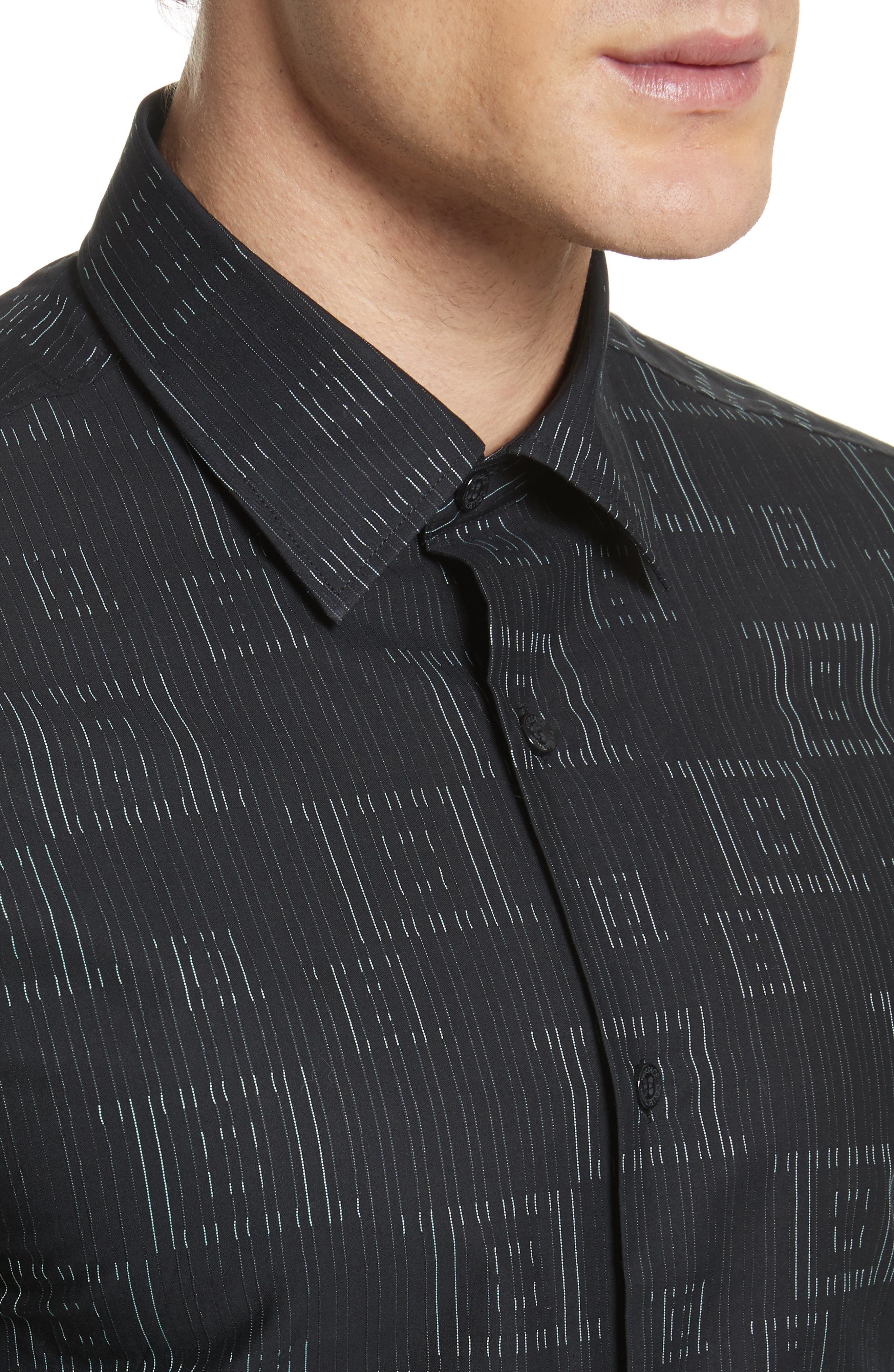 Frame Print Shirt,                             Alternate thumbnail 4, color,