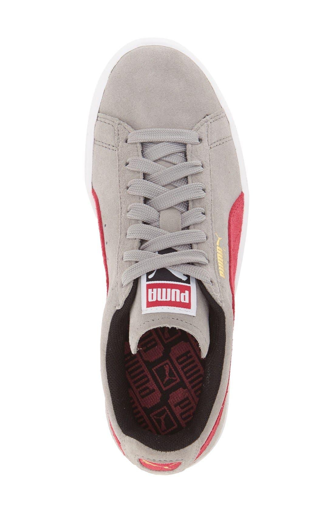 Suede Sneaker,                             Alternate thumbnail 65, color,