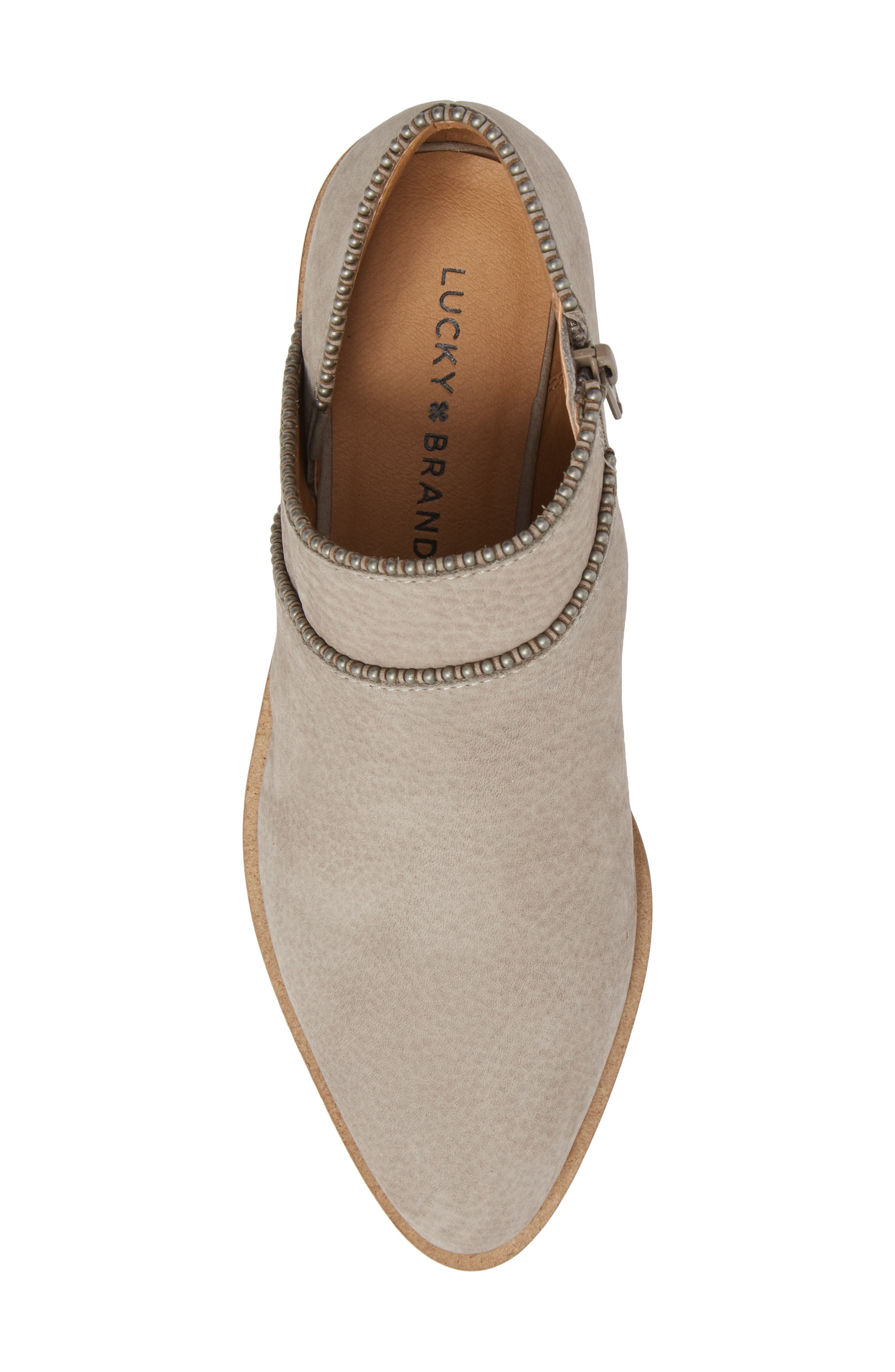 LUCKY BRAND,                             Perrma Bootie,                             Alternate thumbnail 5, color,                             060