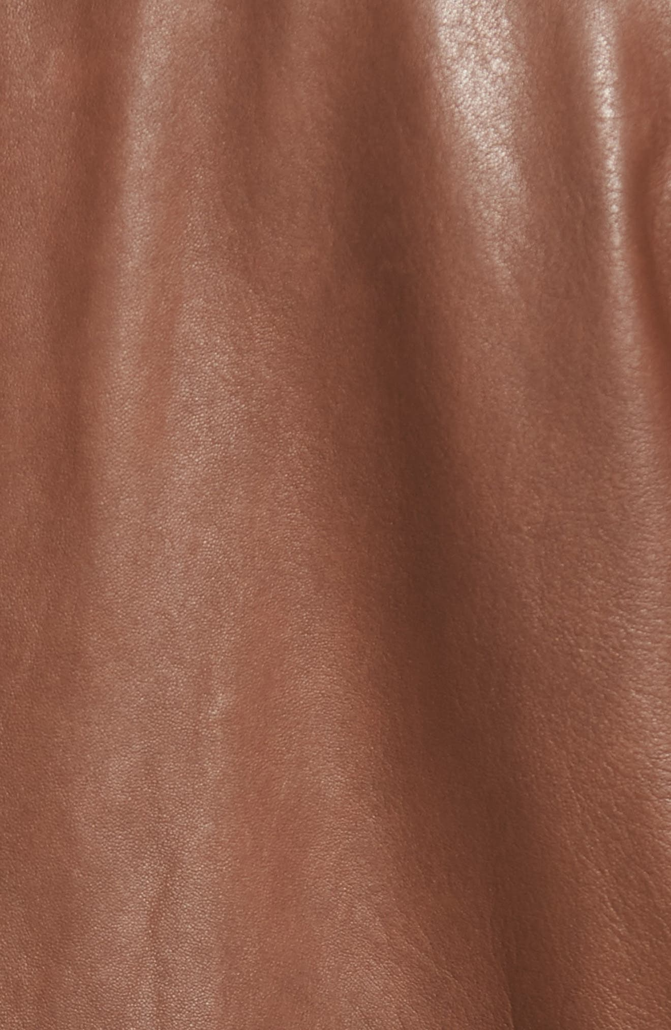 Washed Lamb Leather Moto Jacket,                             Alternate thumbnail 6, color,                             204