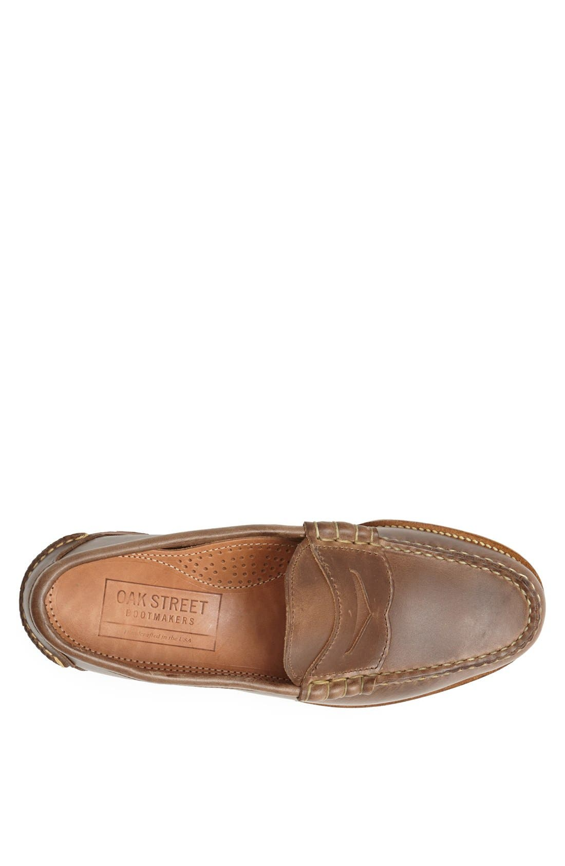 Beefroll Penny Loafer,                             Alternate thumbnail 2, color,                             NATURAL BROWN