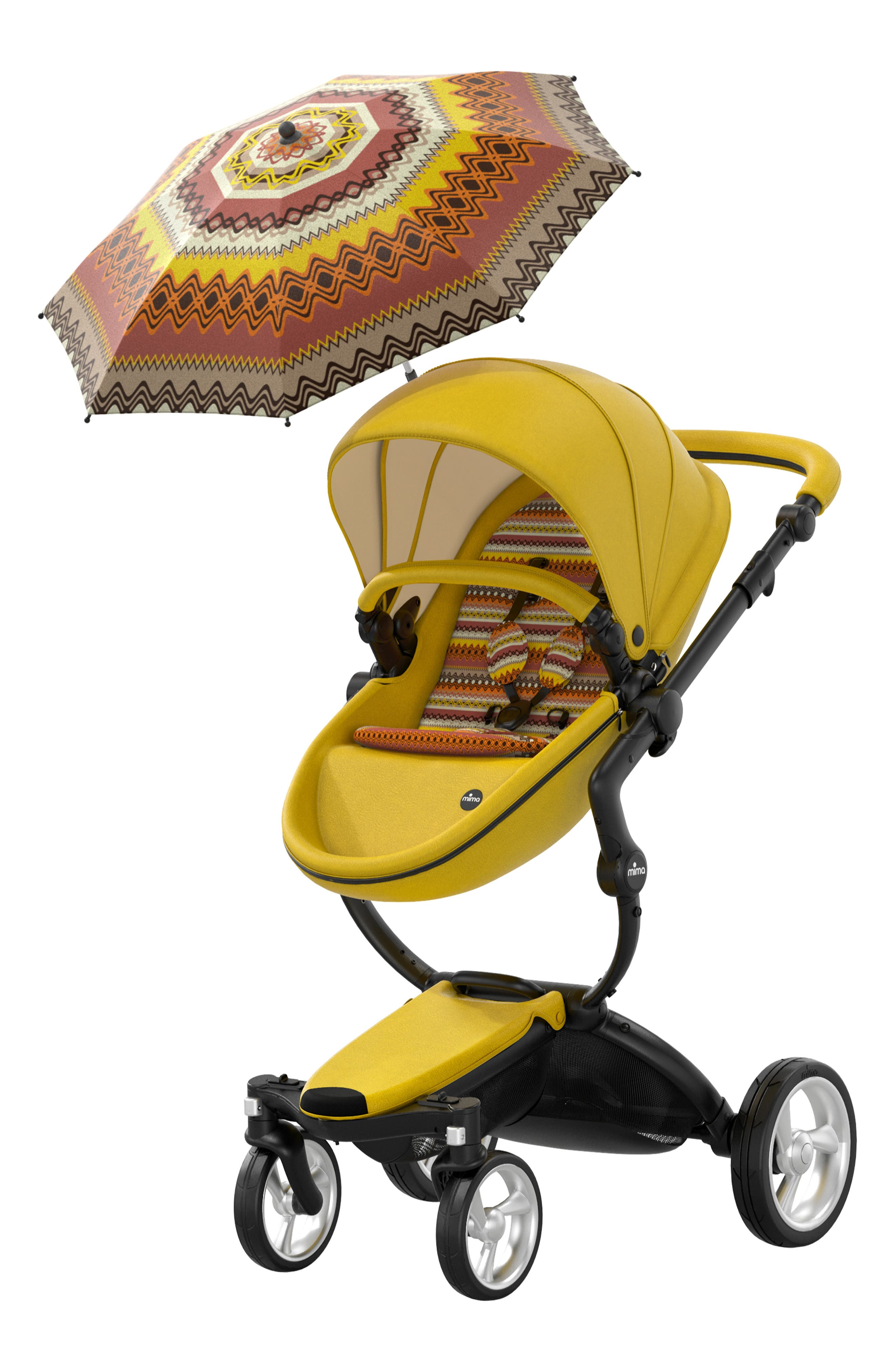 Xari Special Edition Chassis Stroller with Seat, Carrycot & Accessories,                             Alternate thumbnail 5, color,                             SPECIAL EDITION YELLOW