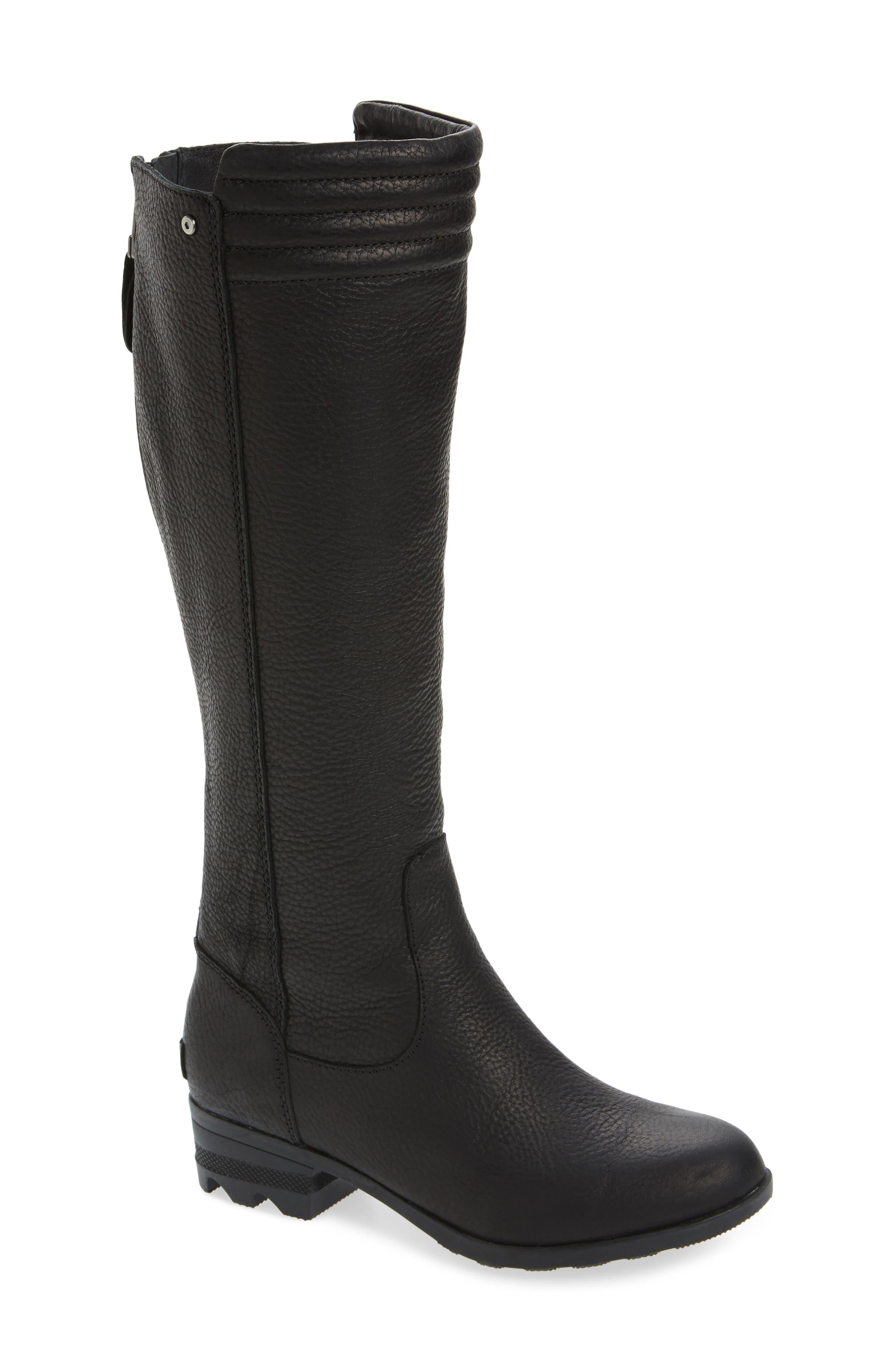Danica Waterproof Knee High Boot,                             Main thumbnail 1, color,                             010
