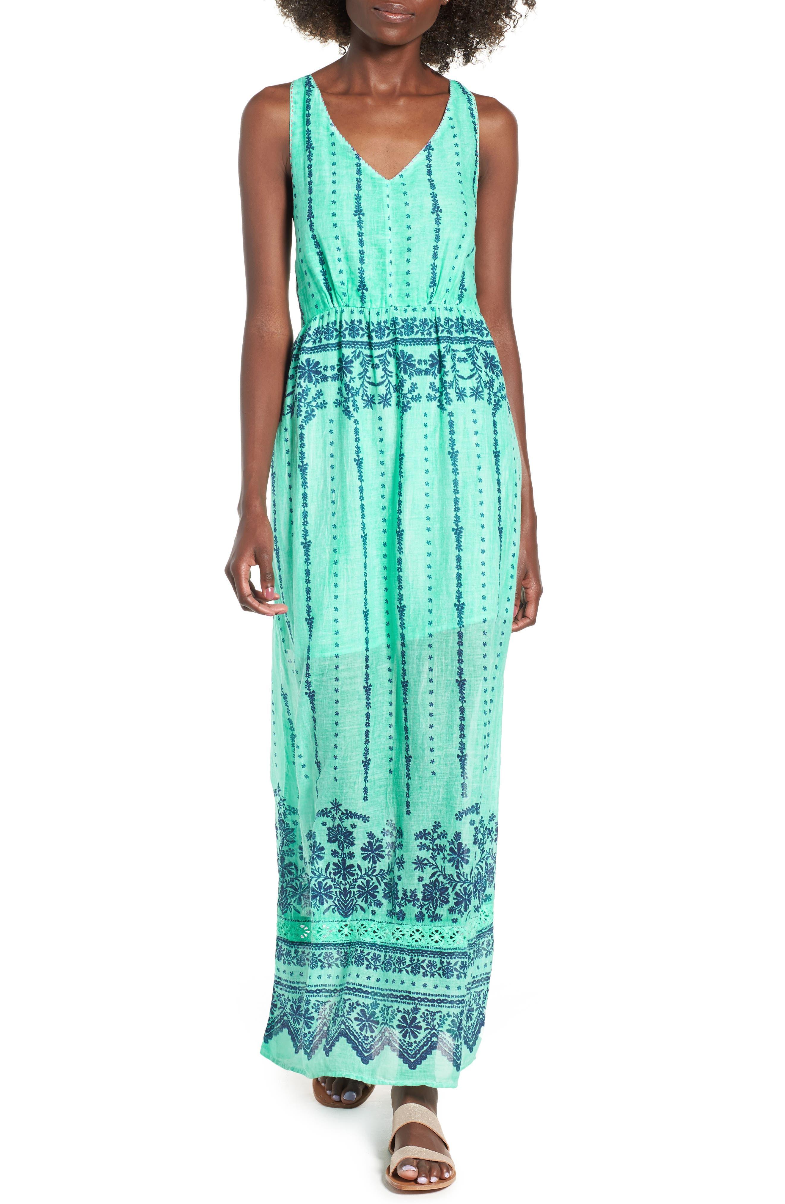La Playita Maxi Dress,                         Main,                         color, 300