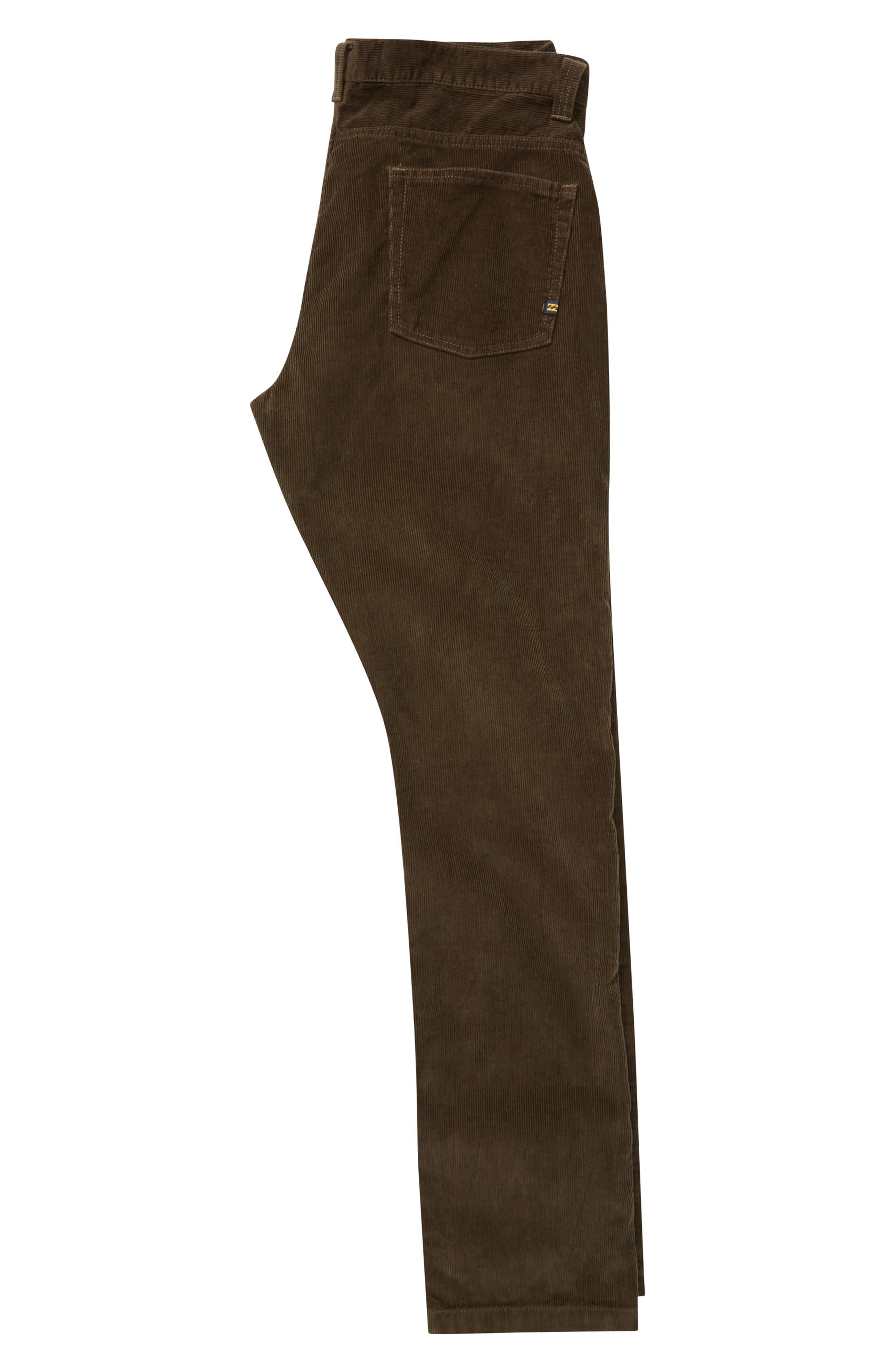 Outsider Corduroy Pants,                             Alternate thumbnail 2, color,                             COFFEE