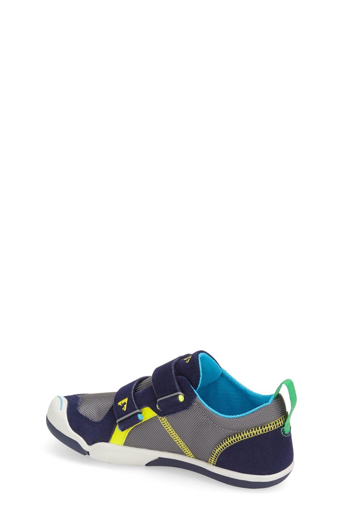 Ty Customizable Sneaker,                             Alternate thumbnail 3, color,                             NAVY/ STEEL