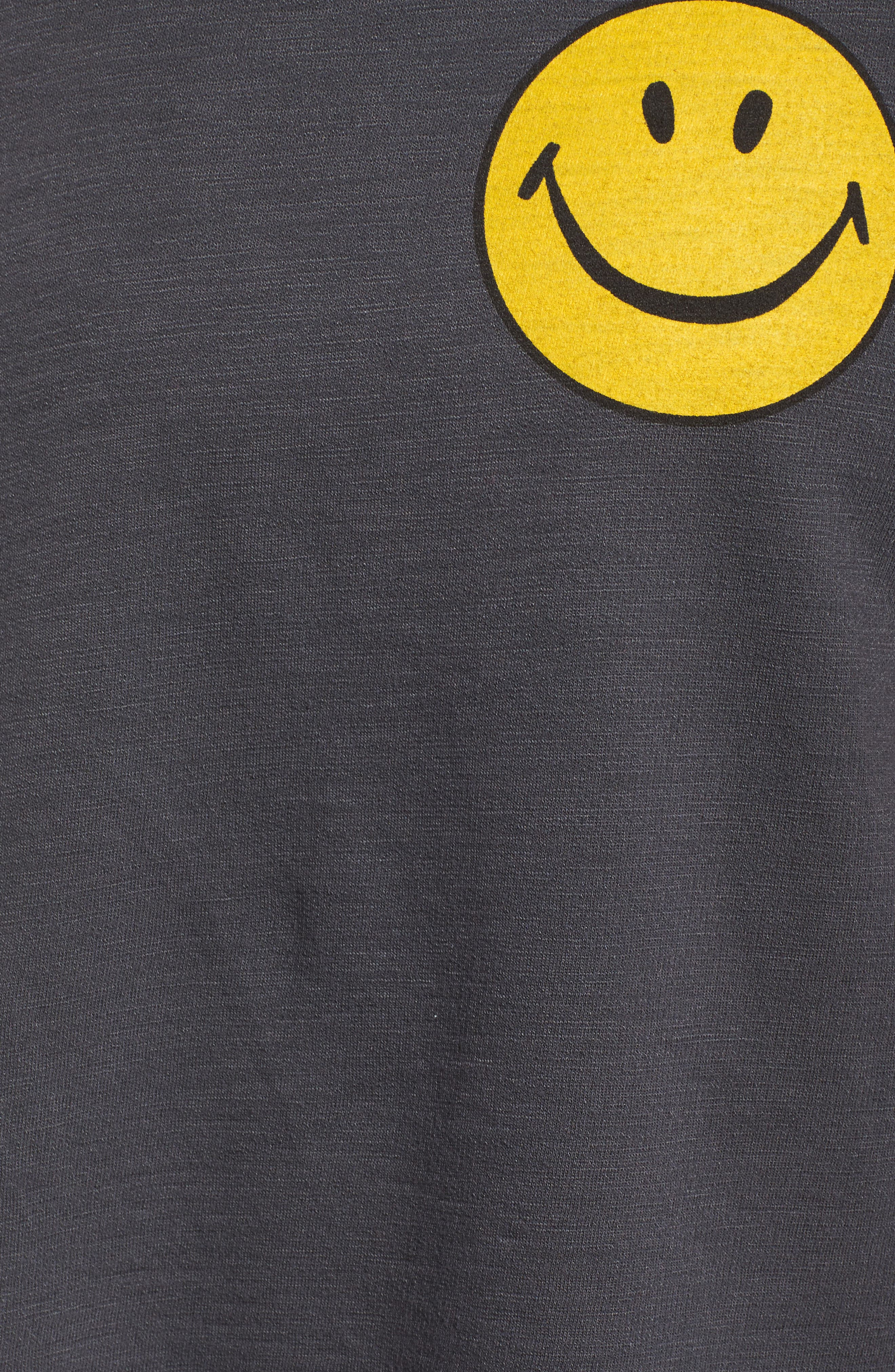 Smiley Muscle Tee,                             Alternate thumbnail 6, color,                             020