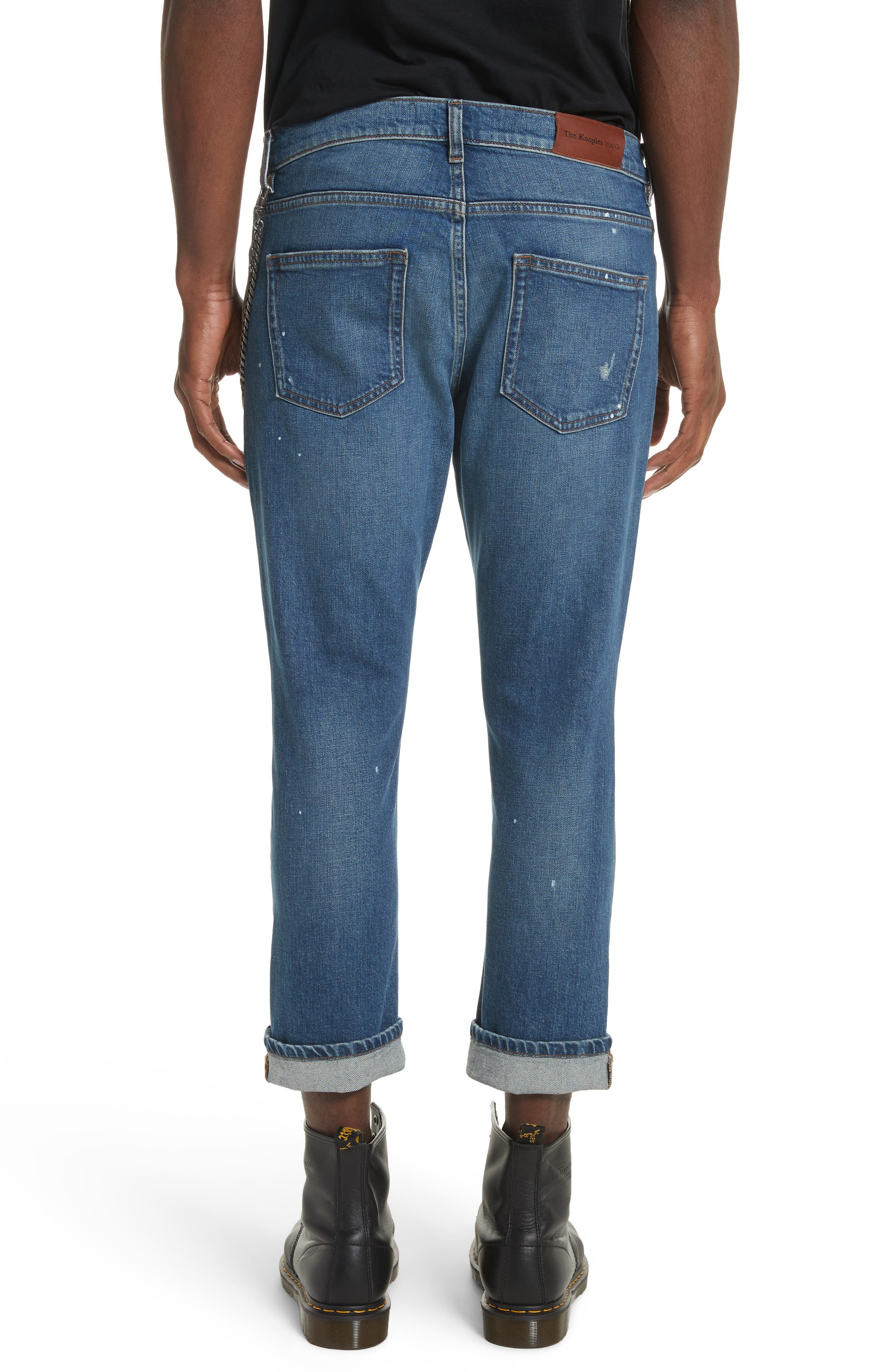 Cropped Jeans,                             Alternate thumbnail 2, color,