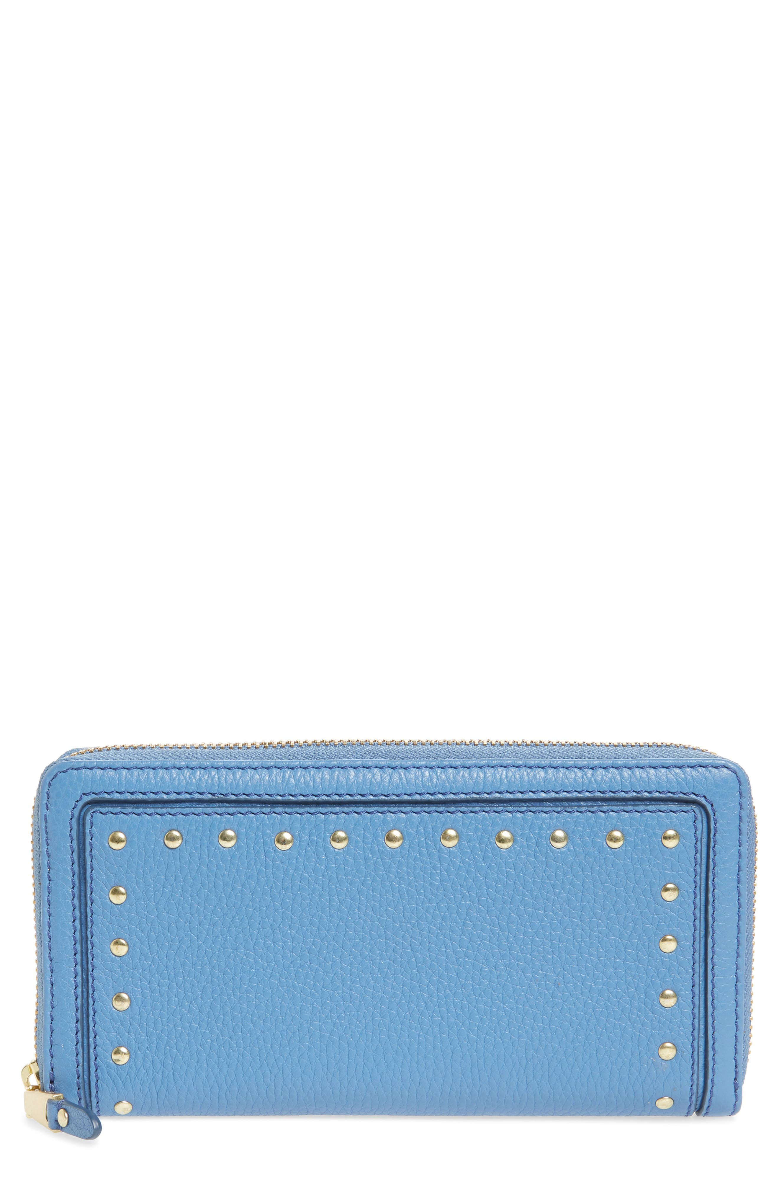 Cassidy Leather RFID Continental Zip Wallet,                             Main thumbnail 3, color,