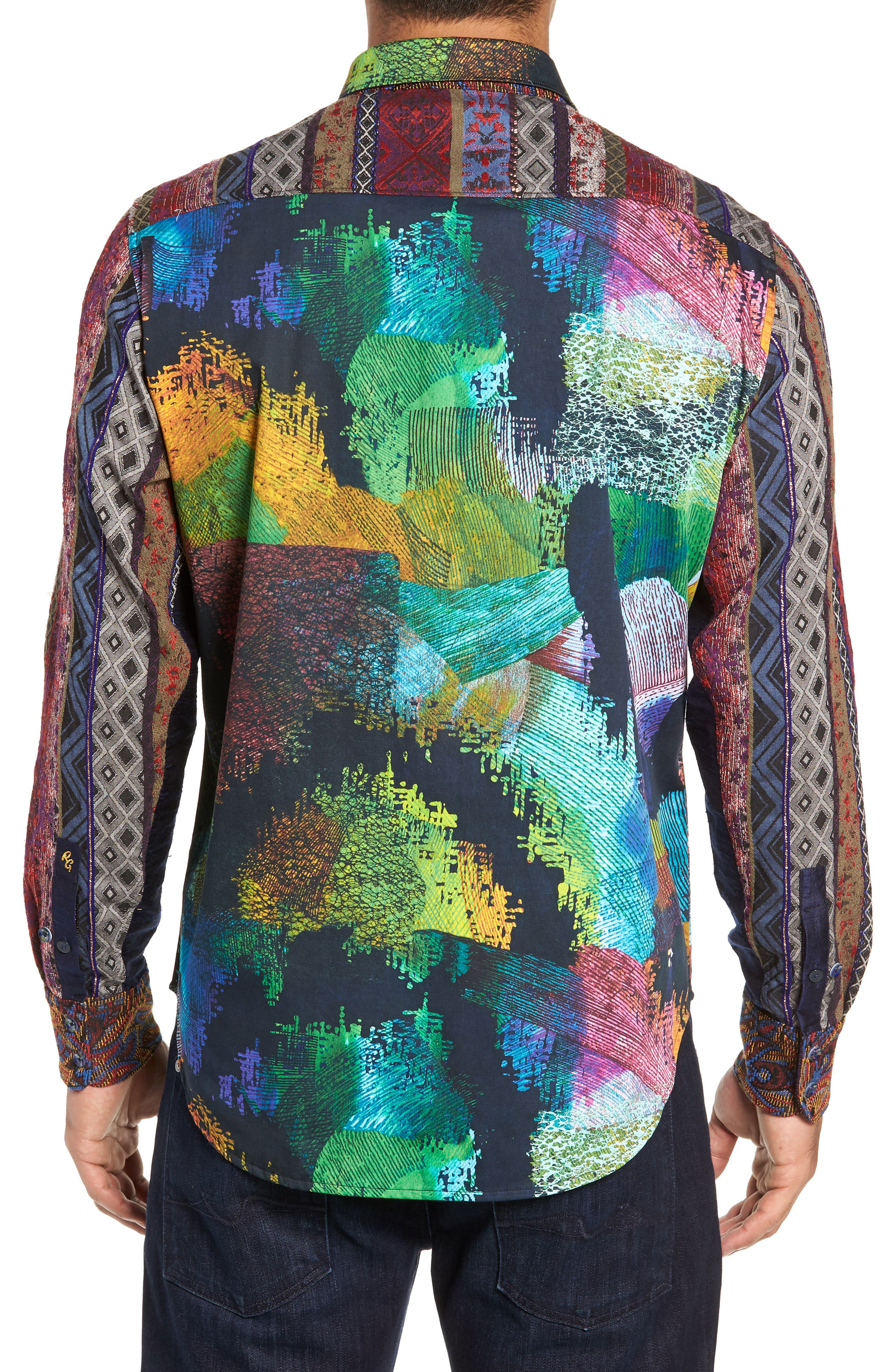 Riley's Dream Limited Edition Classic Fit Sport Shirt,                             Alternate thumbnail 3, color,                             MULTI