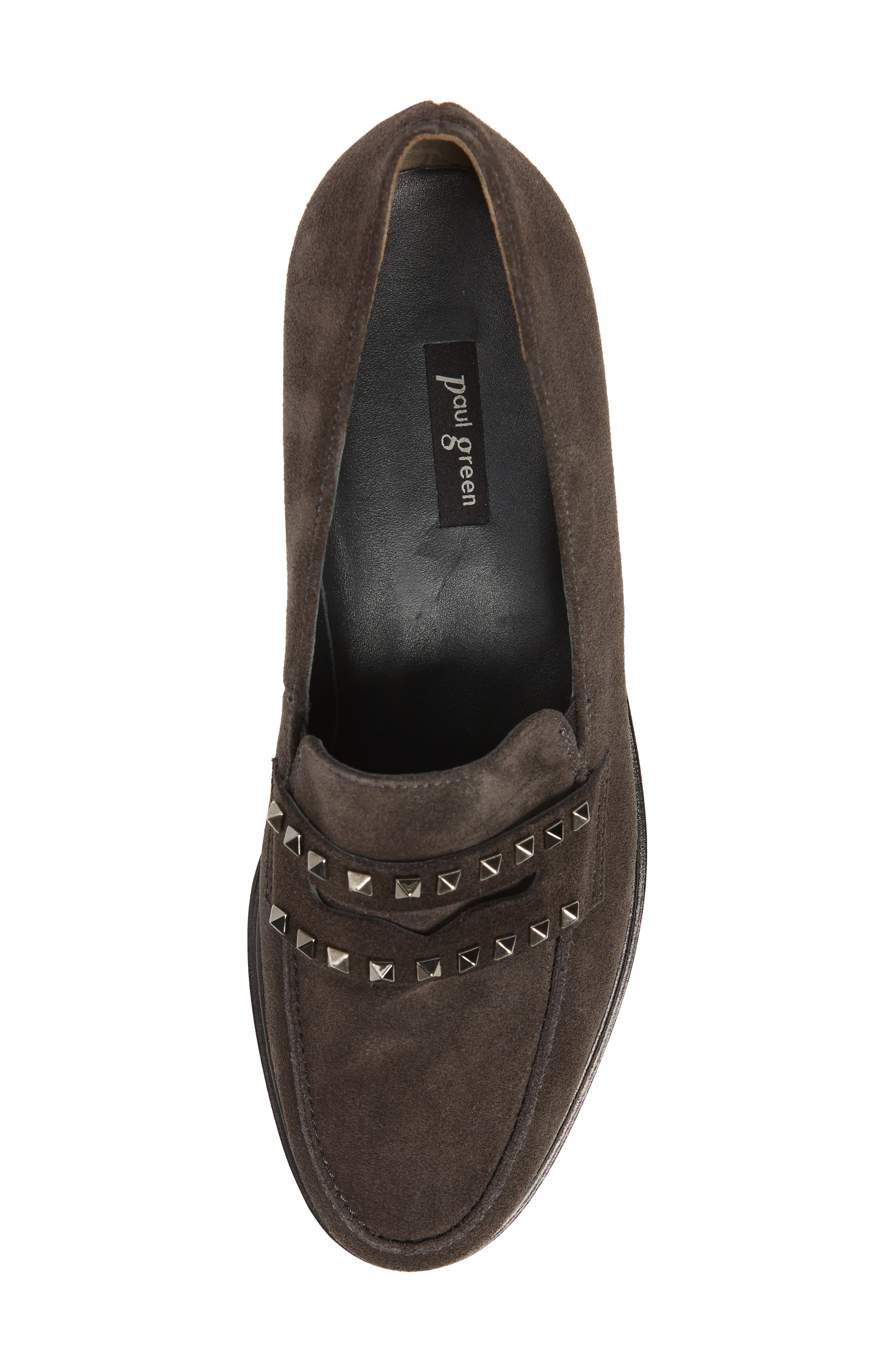 Sofia Loafer,                             Alternate thumbnail 5, color,                             ANTHRACITE SUEDE