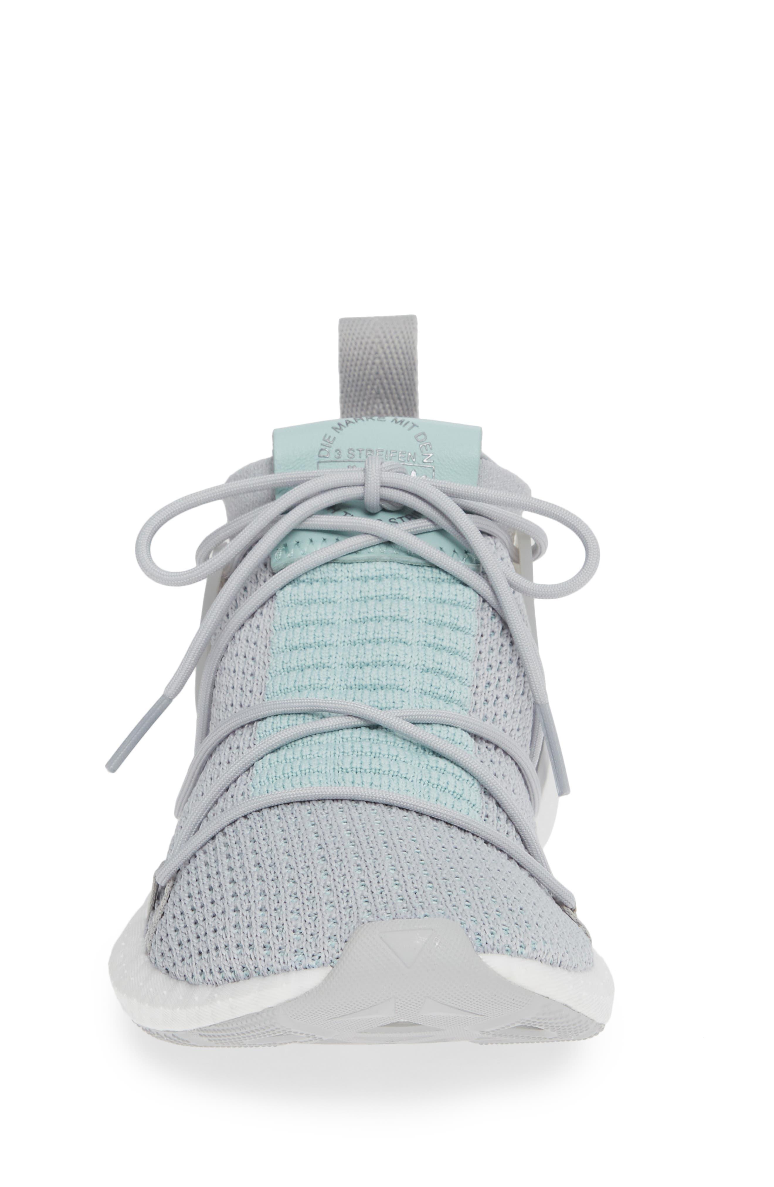 Arkyn Primeknit Sneaker,                             Alternate thumbnail 4, color,                             GREY TWO/ GREY TWO/ ASH GREEN