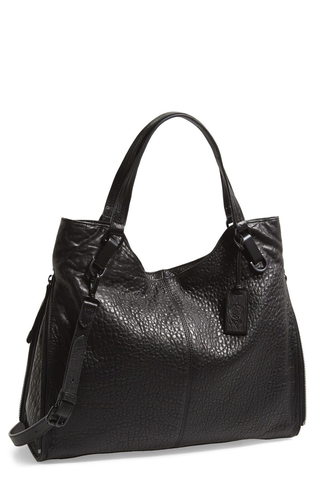 'Riley' Leather Tote,                             Main thumbnail 4, color,