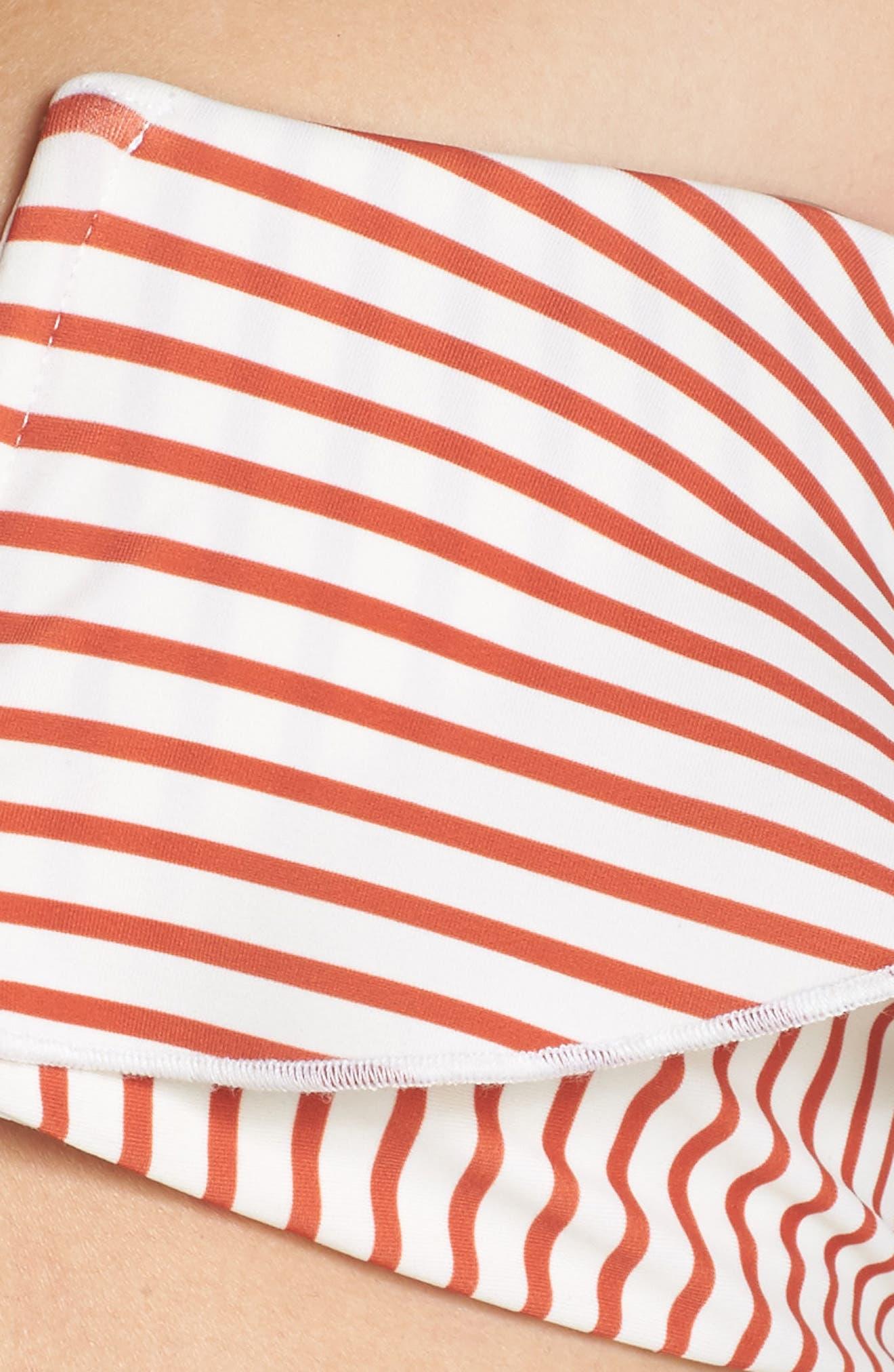 Coco Notch Front Bikini Top,                             Alternate thumbnail 5, color,                             600