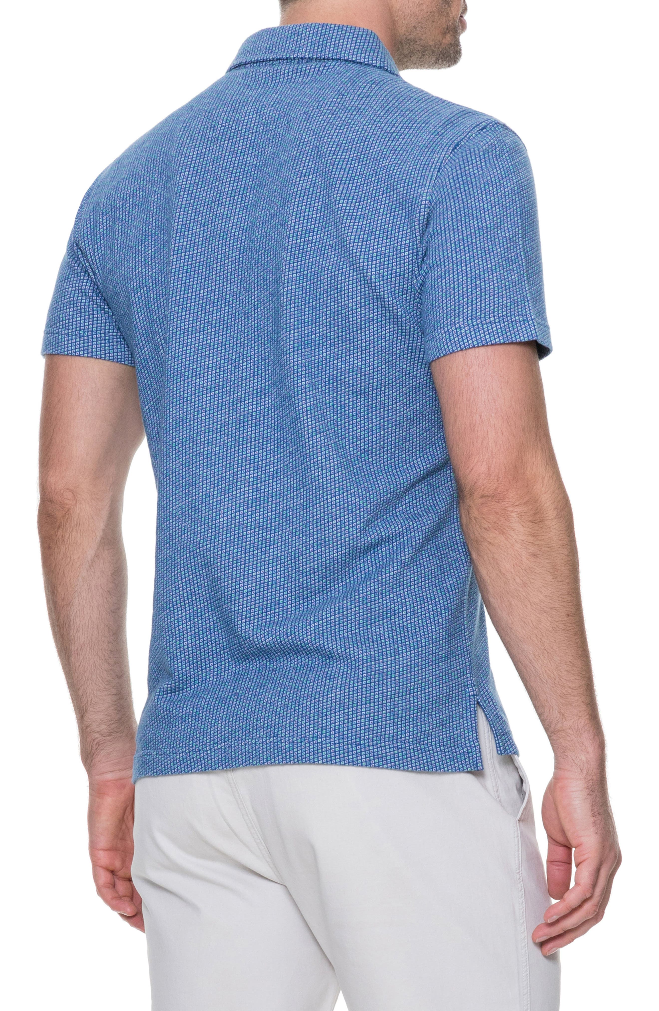 Thoms Bay Sports Fit Polo,                             Alternate thumbnail 2, color,                             423