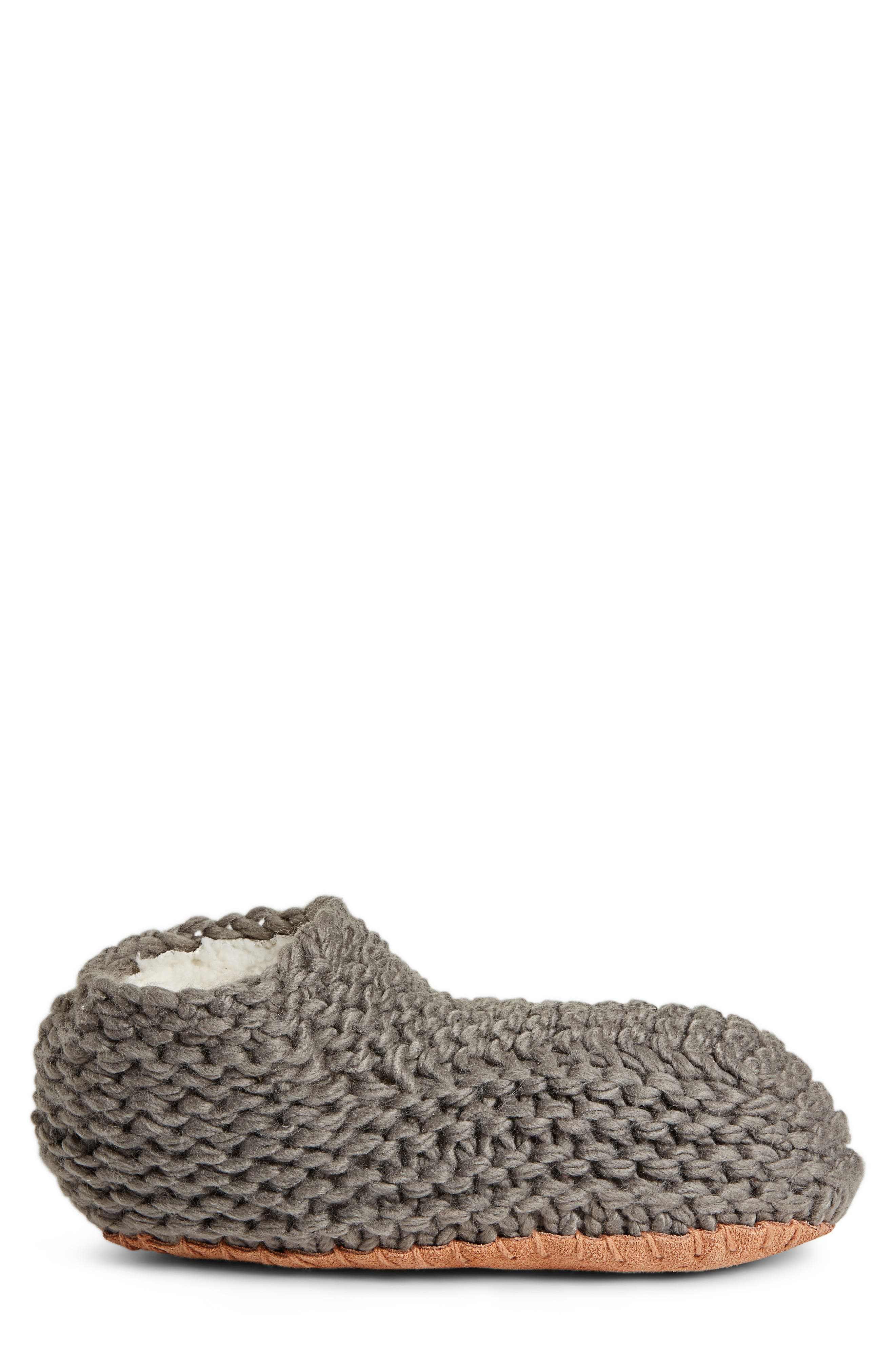 Knit Slipper Bootie,                             Alternate thumbnail 3, color,                             020