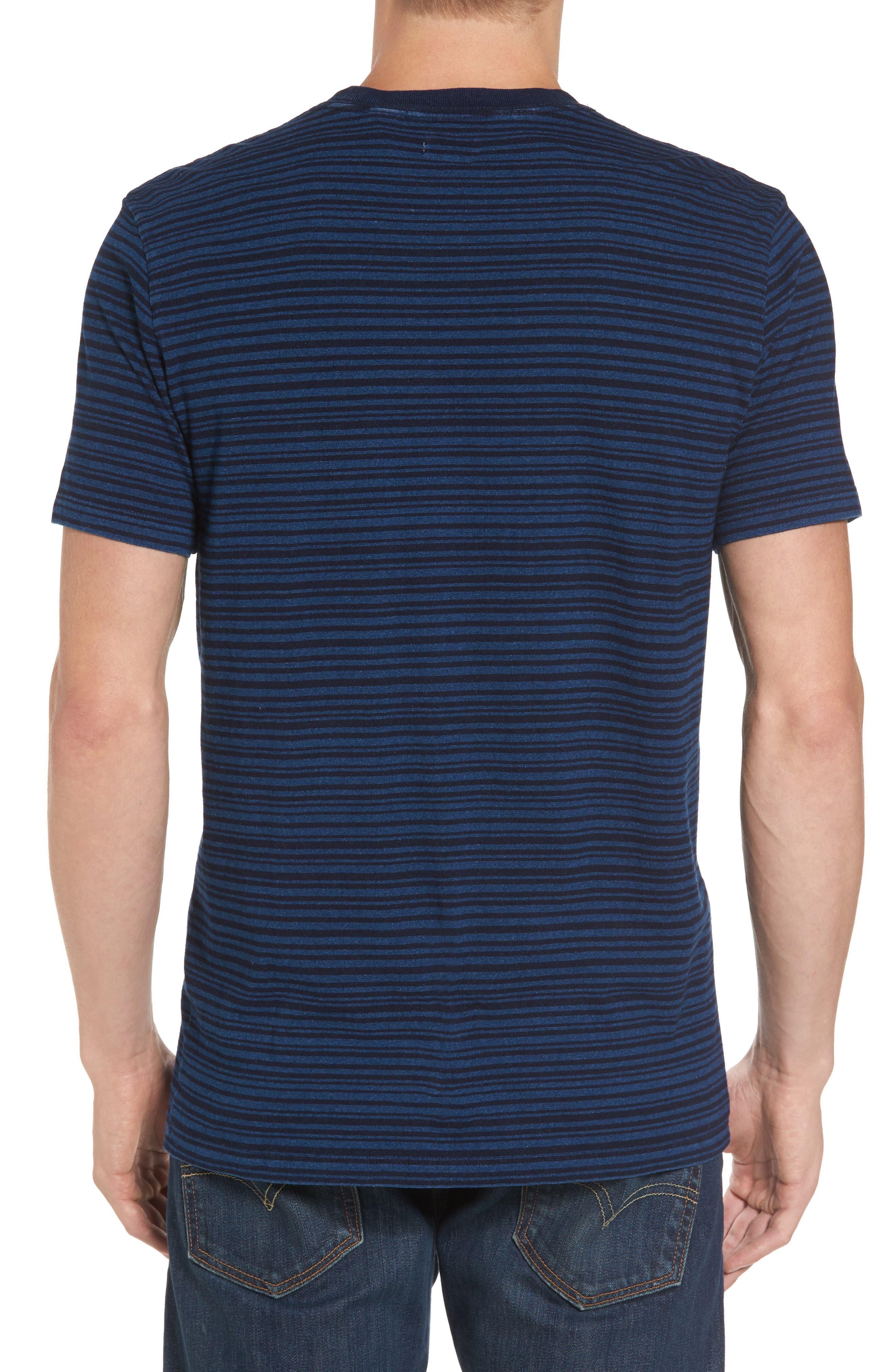 Stripe Pocket T-Shirt,                             Alternate thumbnail 2, color,                             400