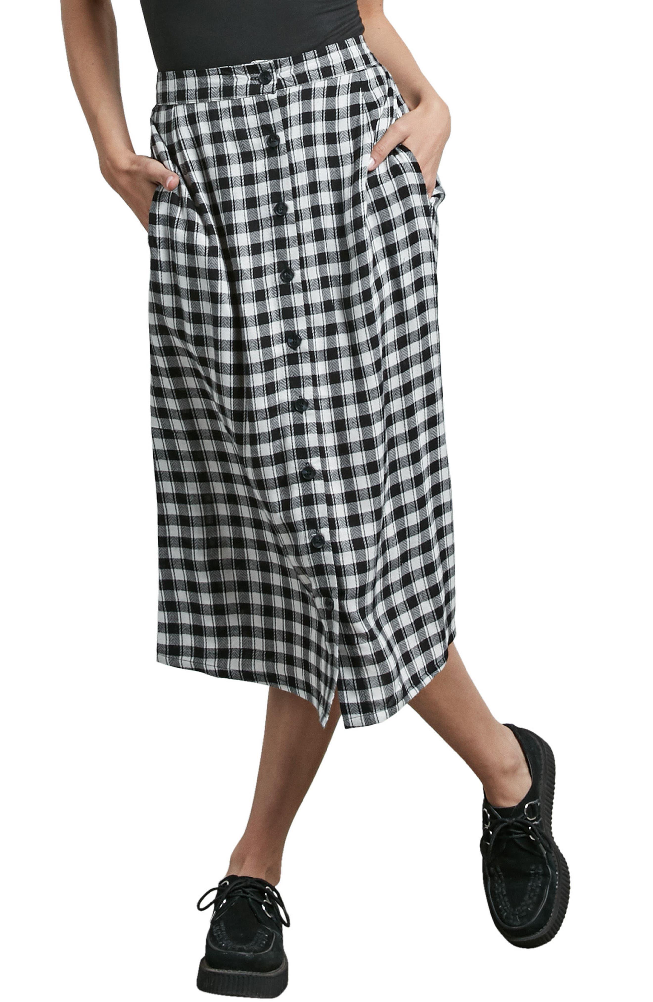 Get To Steppin Midi Skirt,                             Main thumbnail 1, color,
