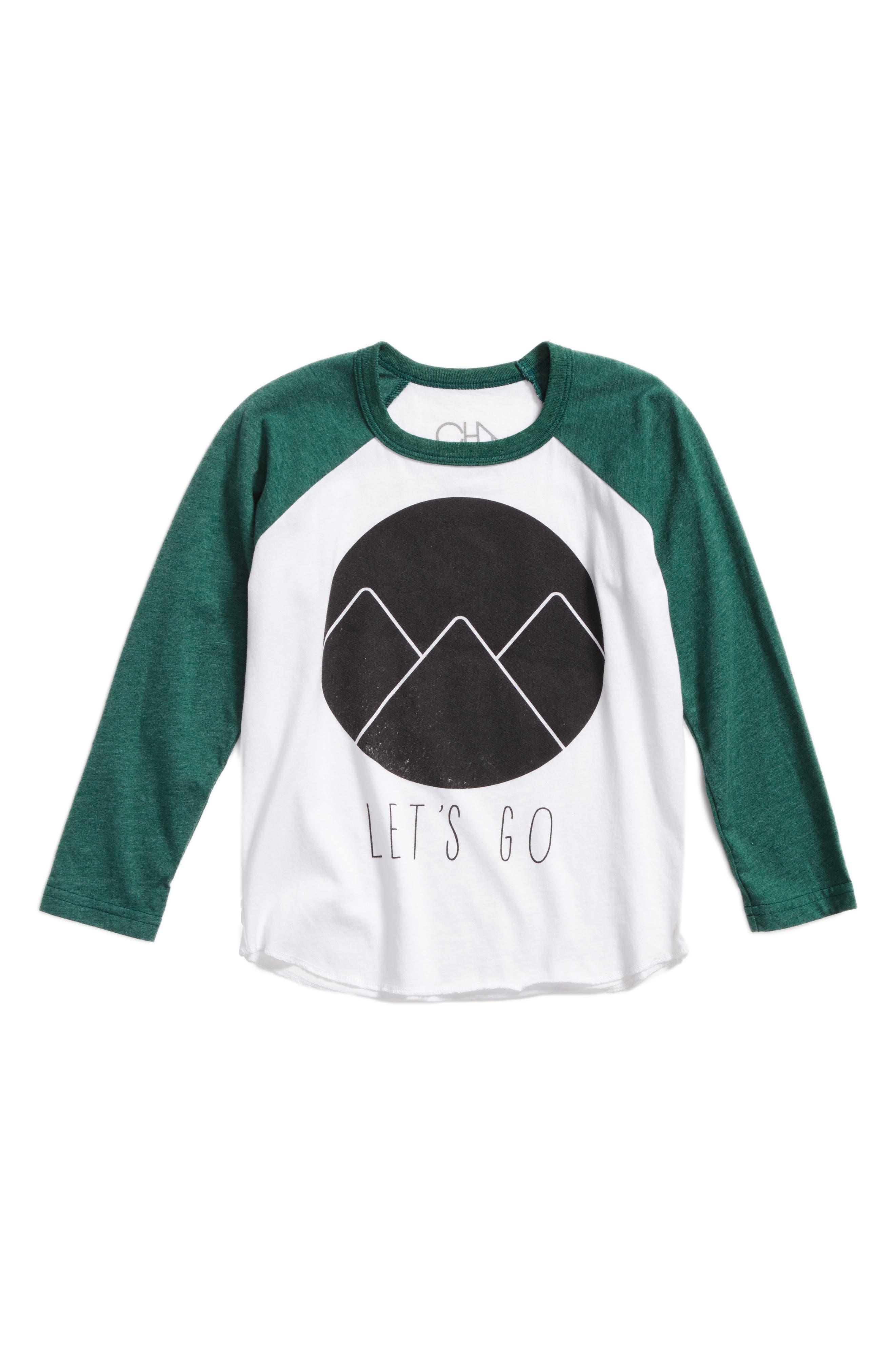 Let's Go Long Sleeve Raglan T-Shirt,                         Main,                         color, 300