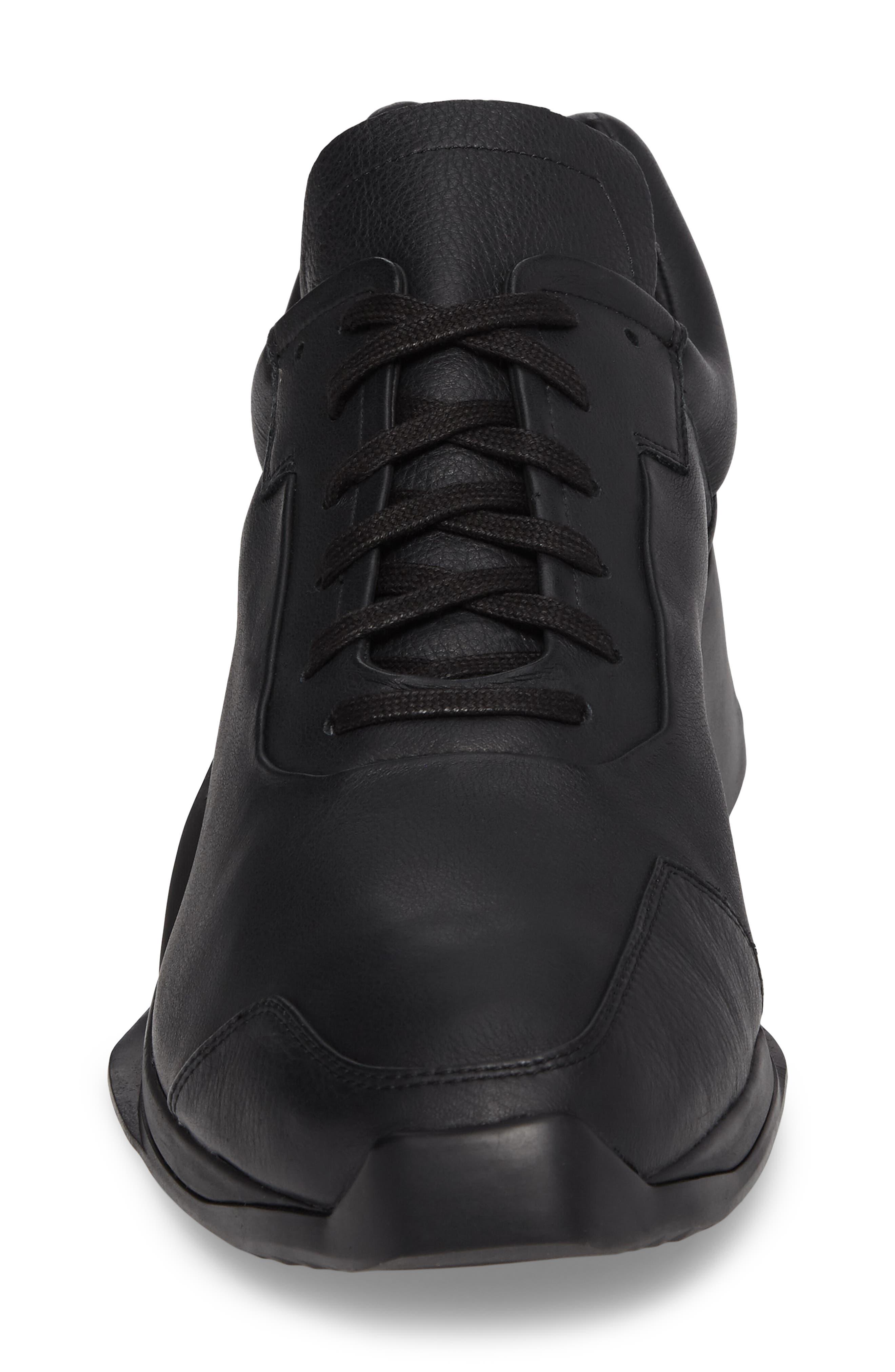 New Runner Boost Sneaker,                             Alternate thumbnail 4, color,                             001