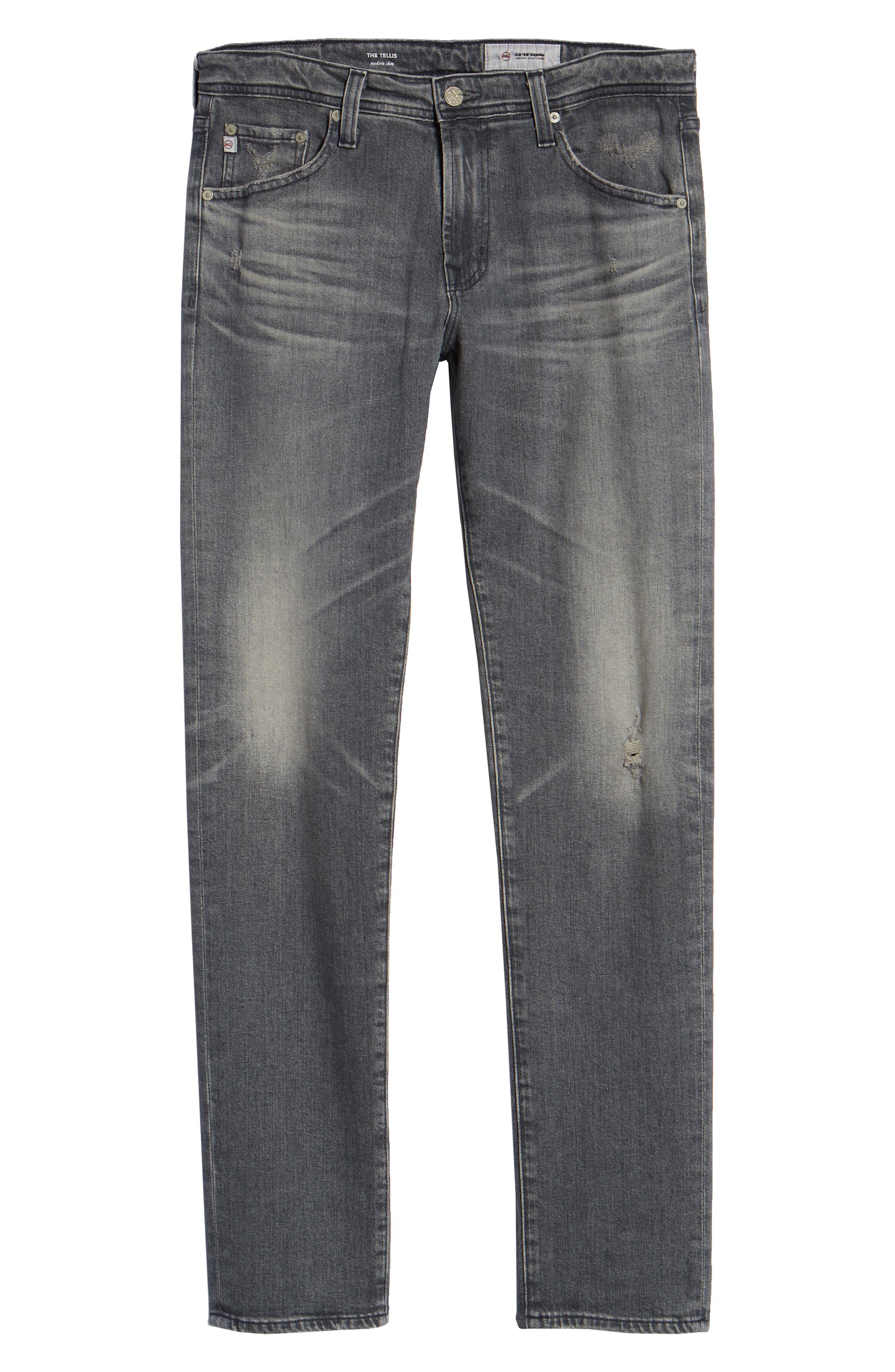 Tellis Slim Fit Jeans,                             Alternate thumbnail 6, color,                             8 YEARS CONJURE