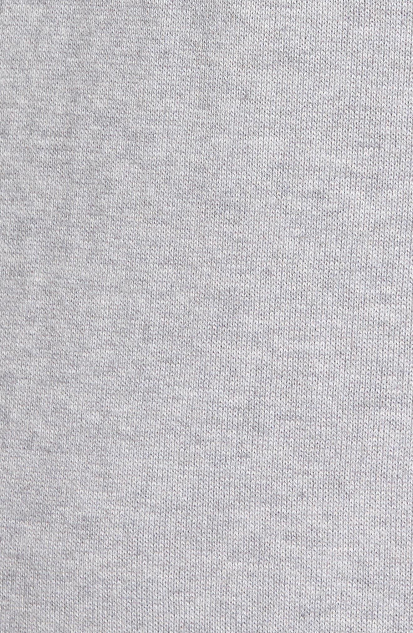R18 Chopper Rib Detail Sweater,                             Alternate thumbnail 5, color,                             078