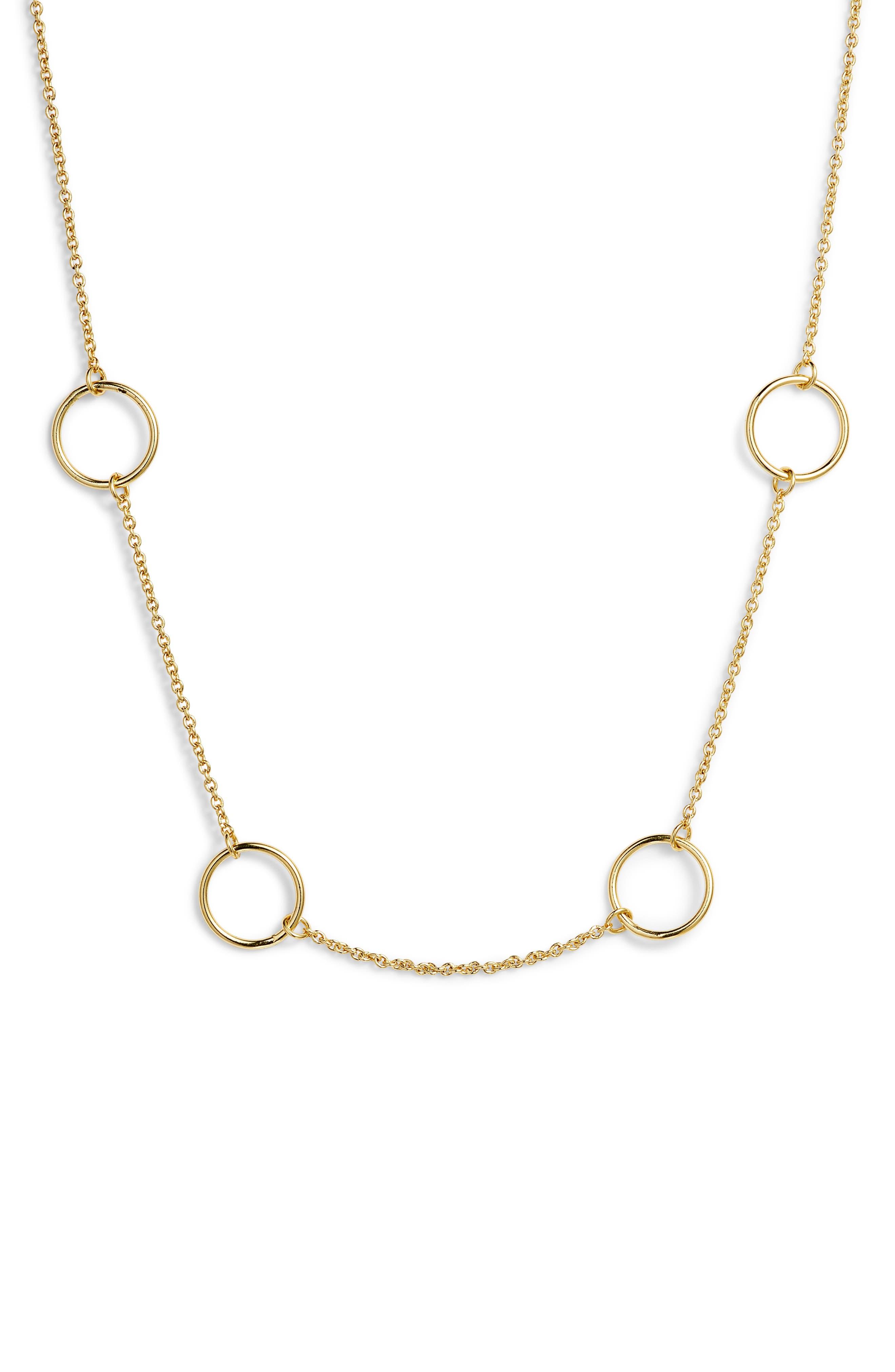 Max Circle Choker Necklace,                             Main thumbnail 1, color,