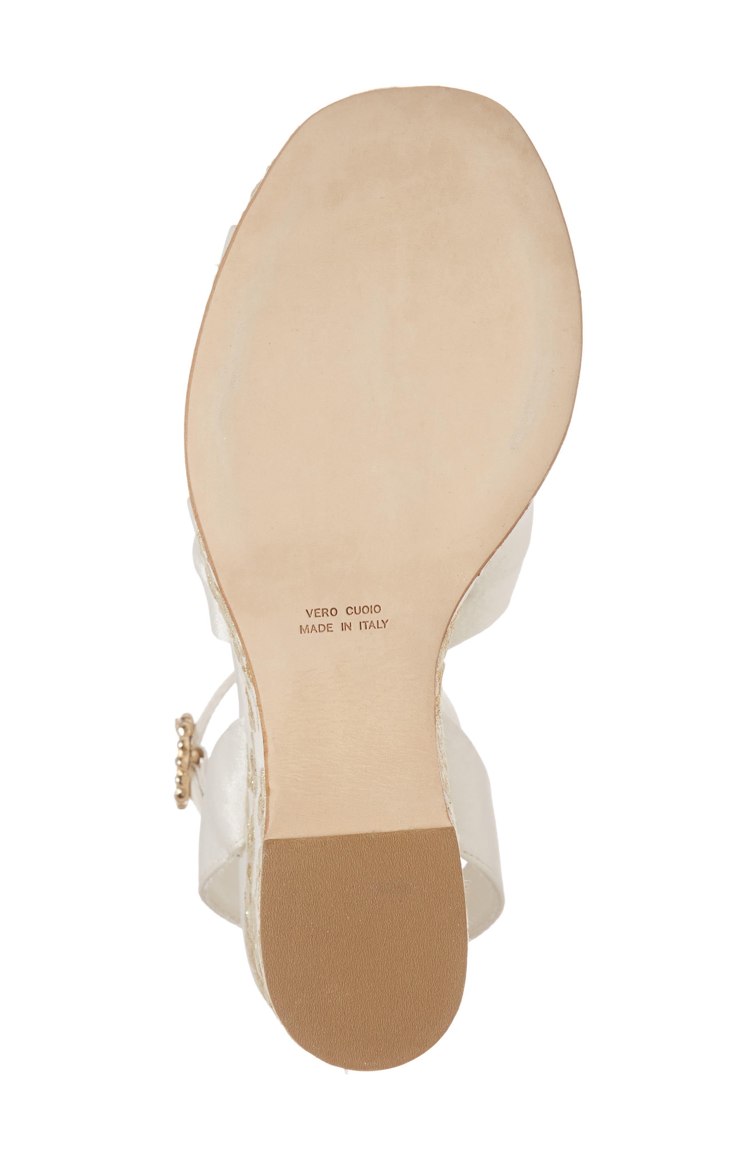 Serena Brocade Platform Sandal,                             Alternate thumbnail 24, color,