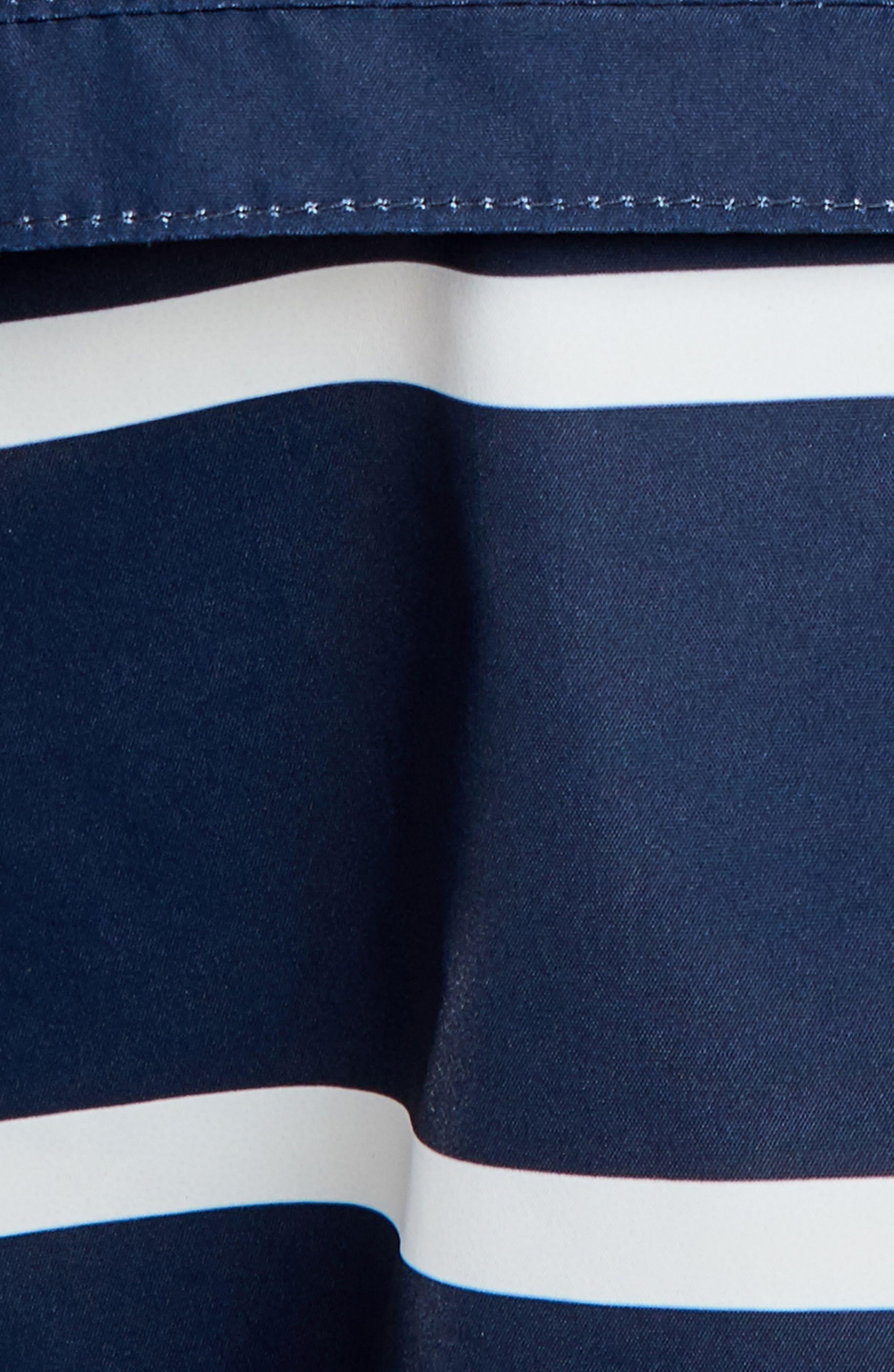 Holliwell Stripe Hooded Jacket,                             Alternate thumbnail 6, color,                             410