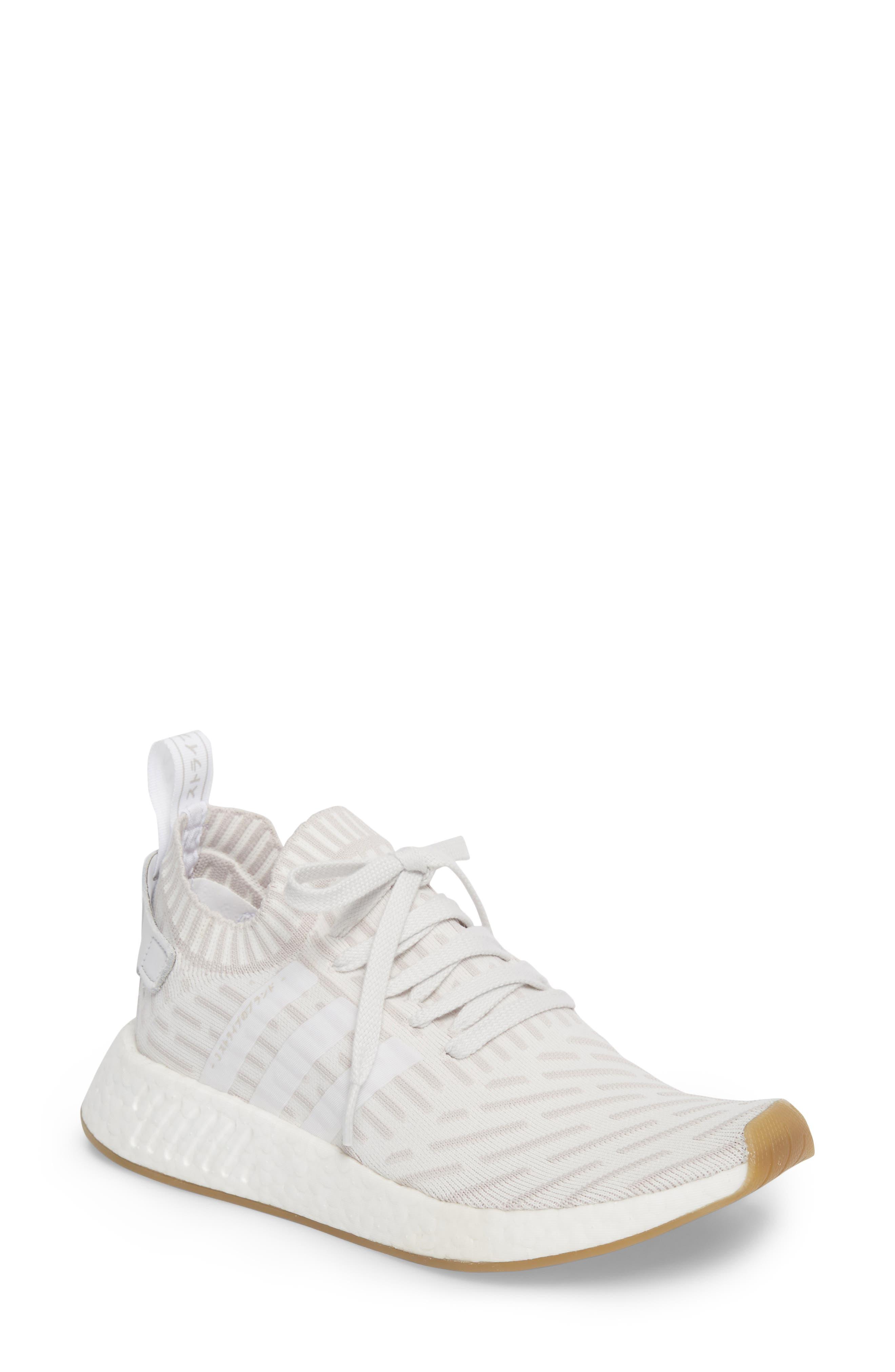 NMD R2 Primeknit Athletic Shoe,                         Main,                         color,