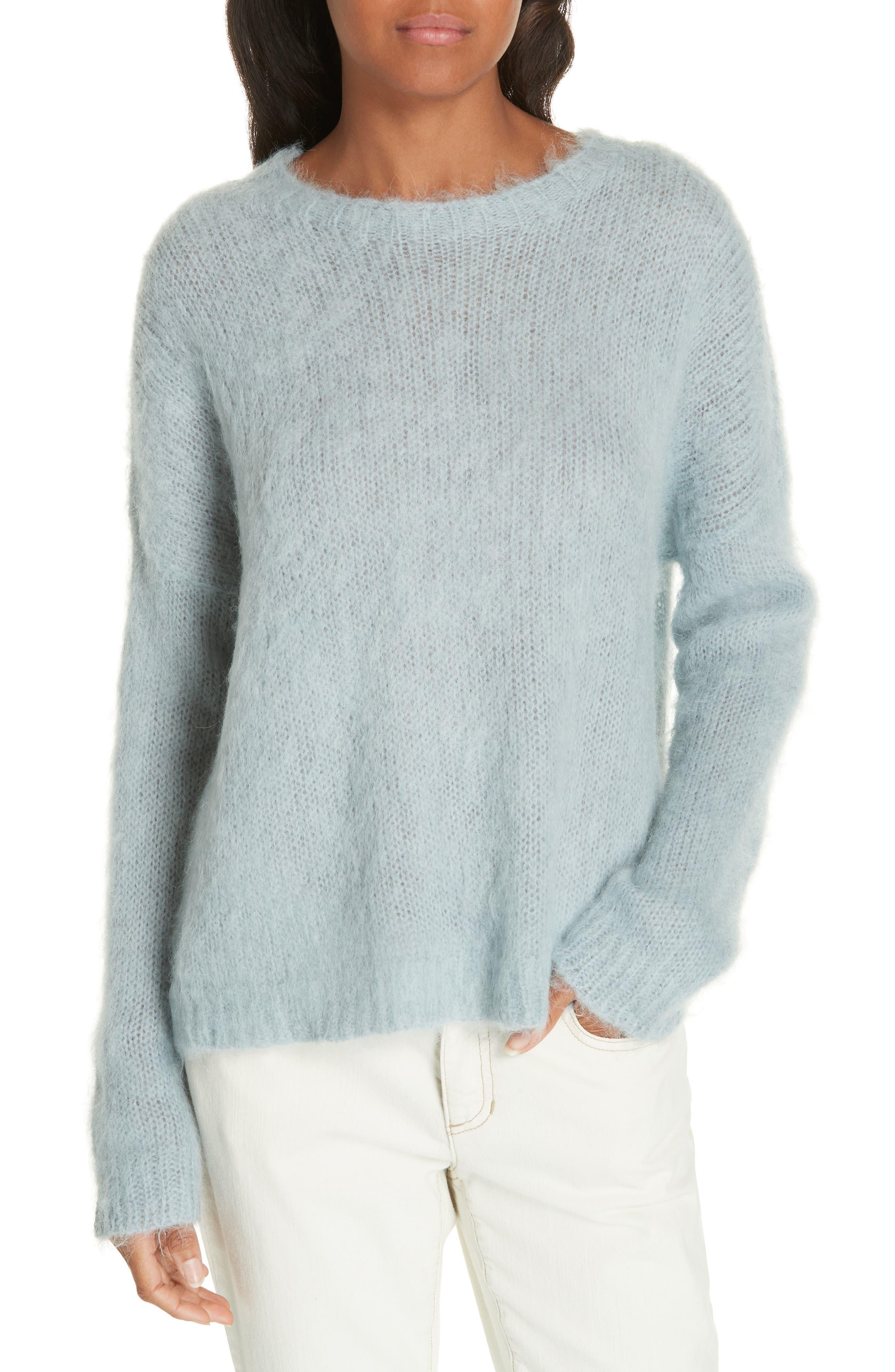 EILEEN FISHER Crewneck Sweater, Main, color, HAZE