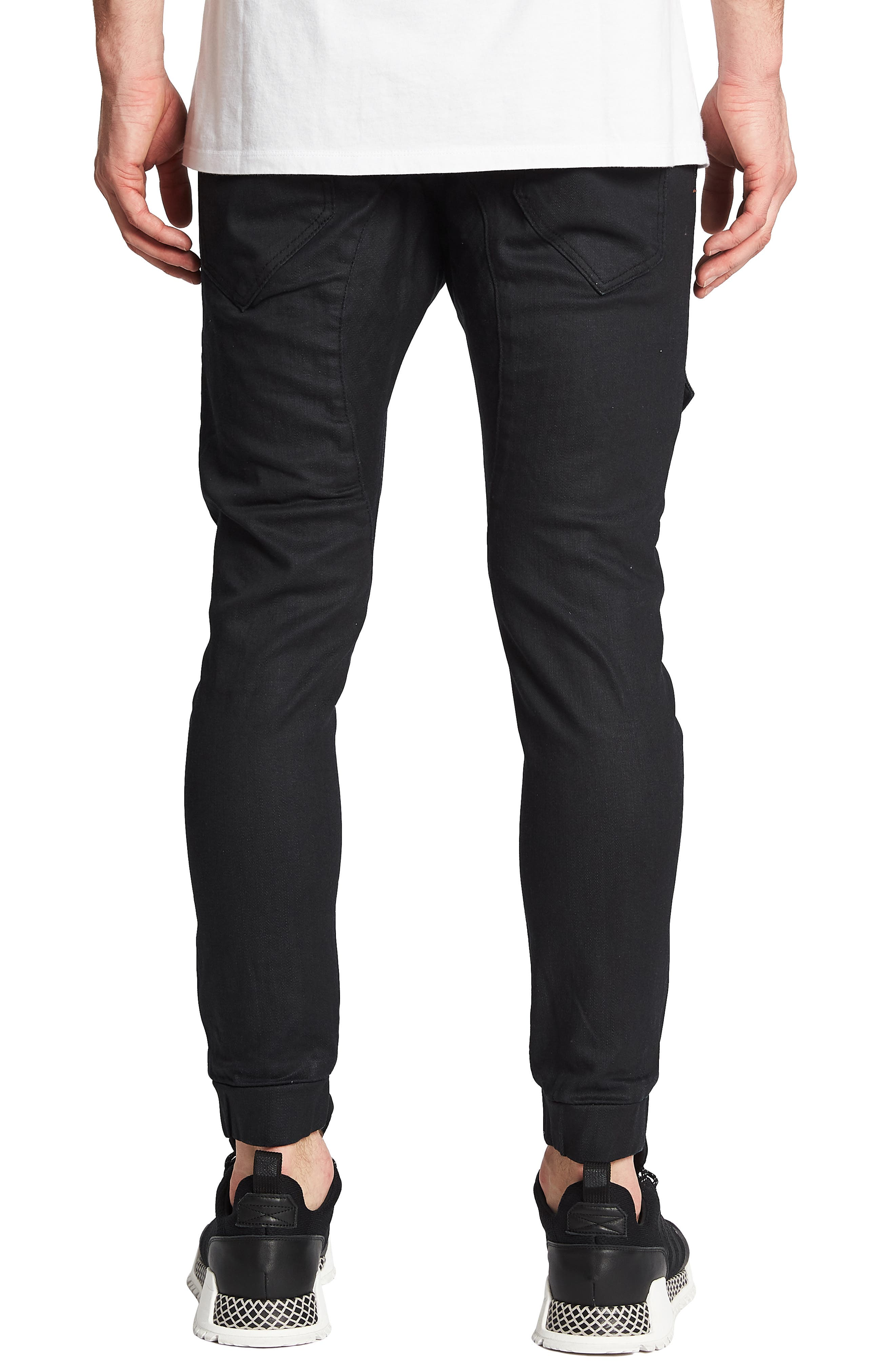 Flight Skinny Denim Jogger Pants,                             Alternate thumbnail 10, color,