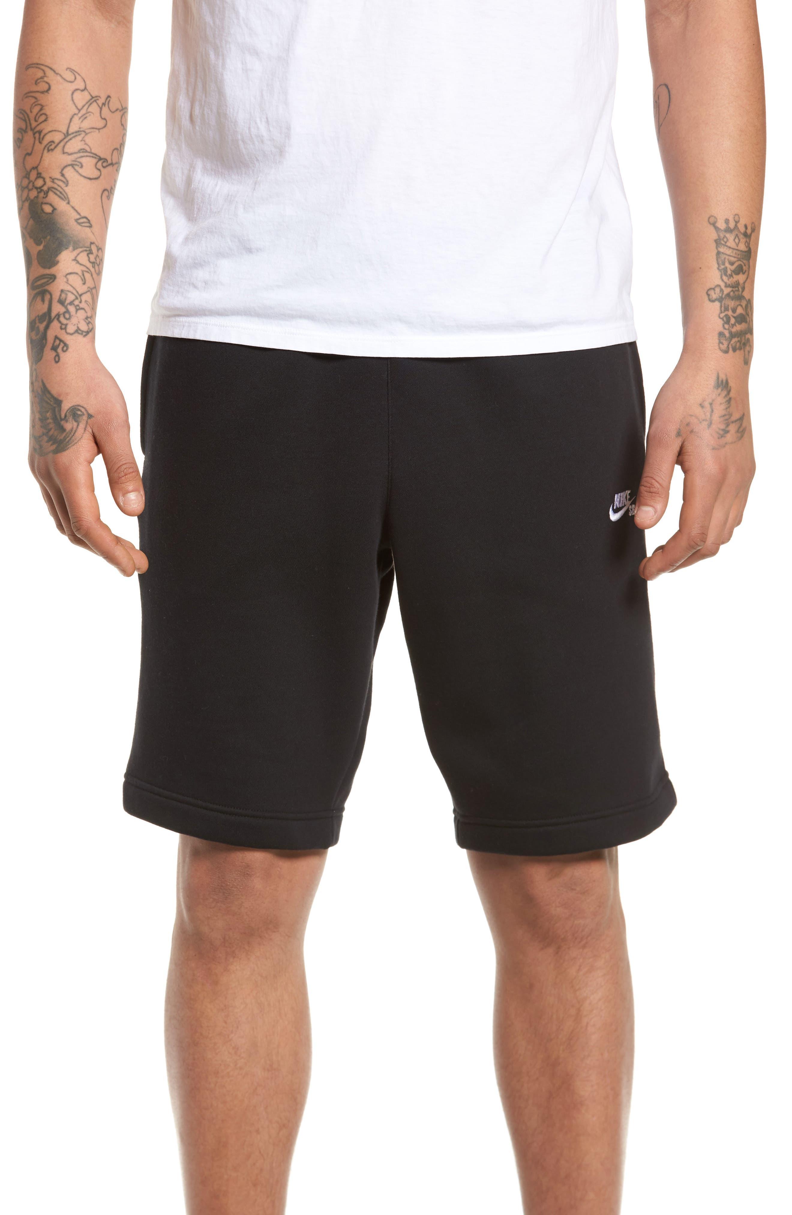 Fleece Shorts,                             Main thumbnail 1, color,                             010